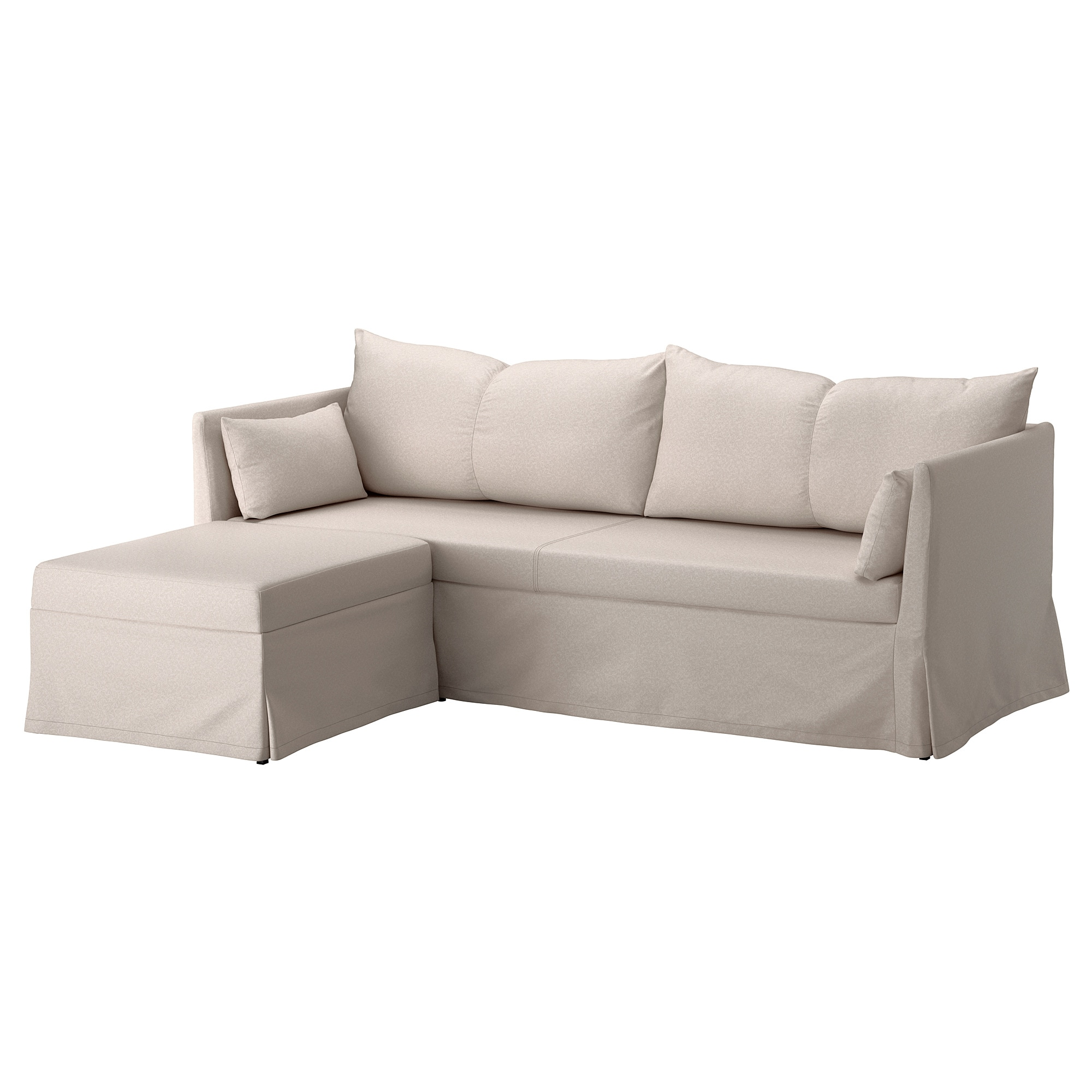 Sofa Foam Inserts Sandbacken Sleeper Sectional 3 Seat Lofallet Beige