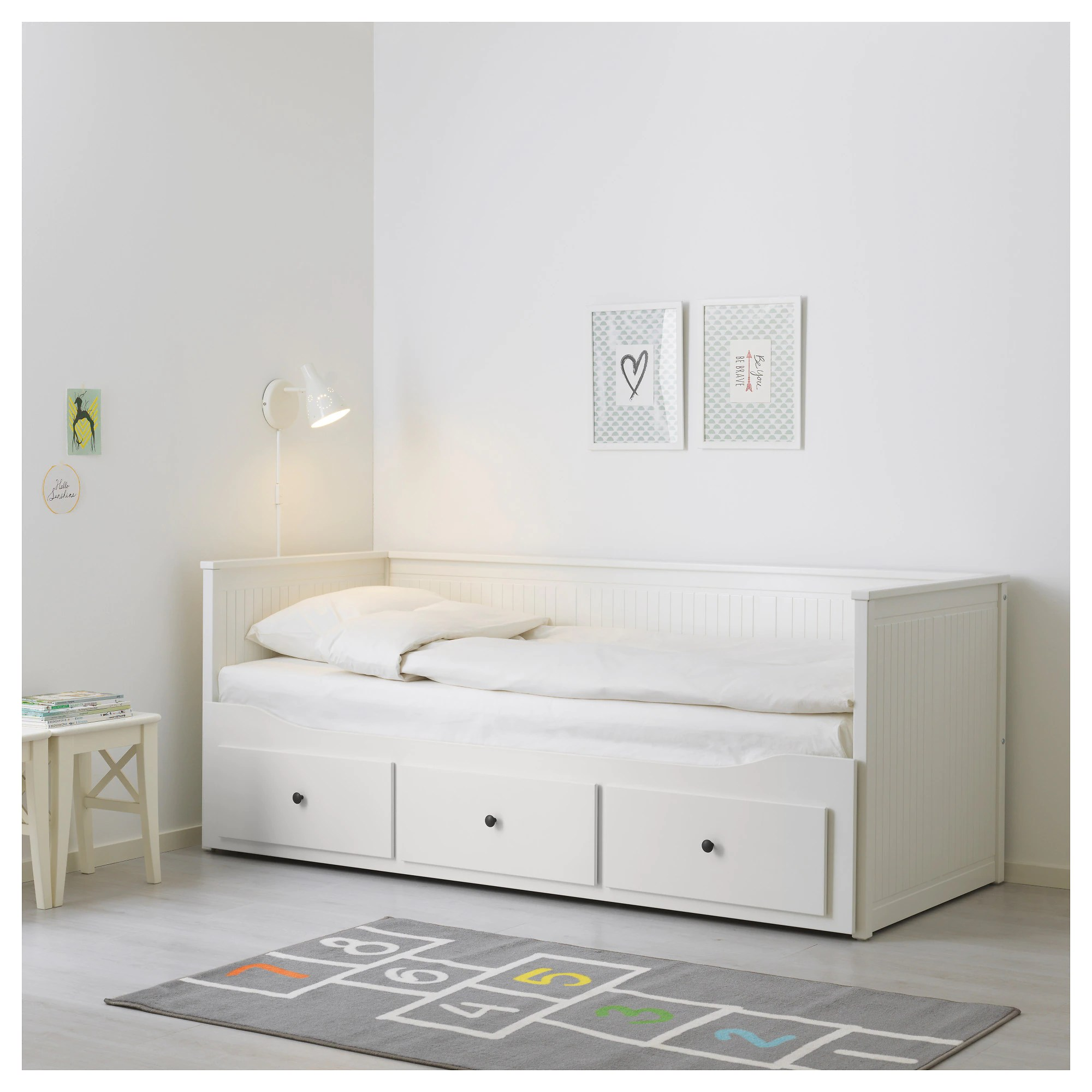 Mesa Cama Ikea Hemnes Daybed Frame With 3 Drawers White