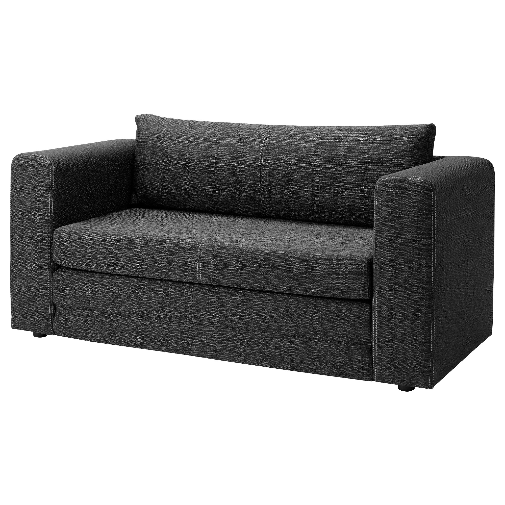 Bettsofa Hagalund 2er Bettsofa Askeby Grau