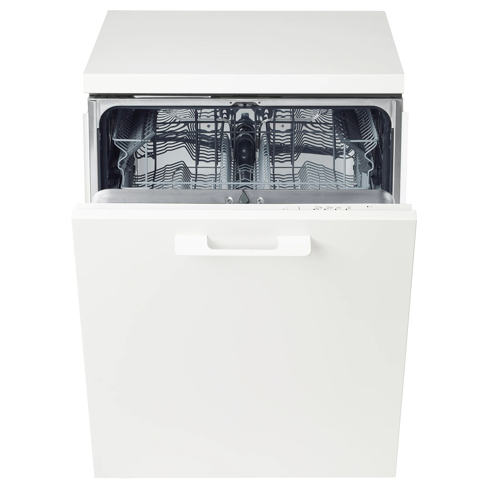 Ikea Vaisselle De Table Integrated Dishwasher Lagan White