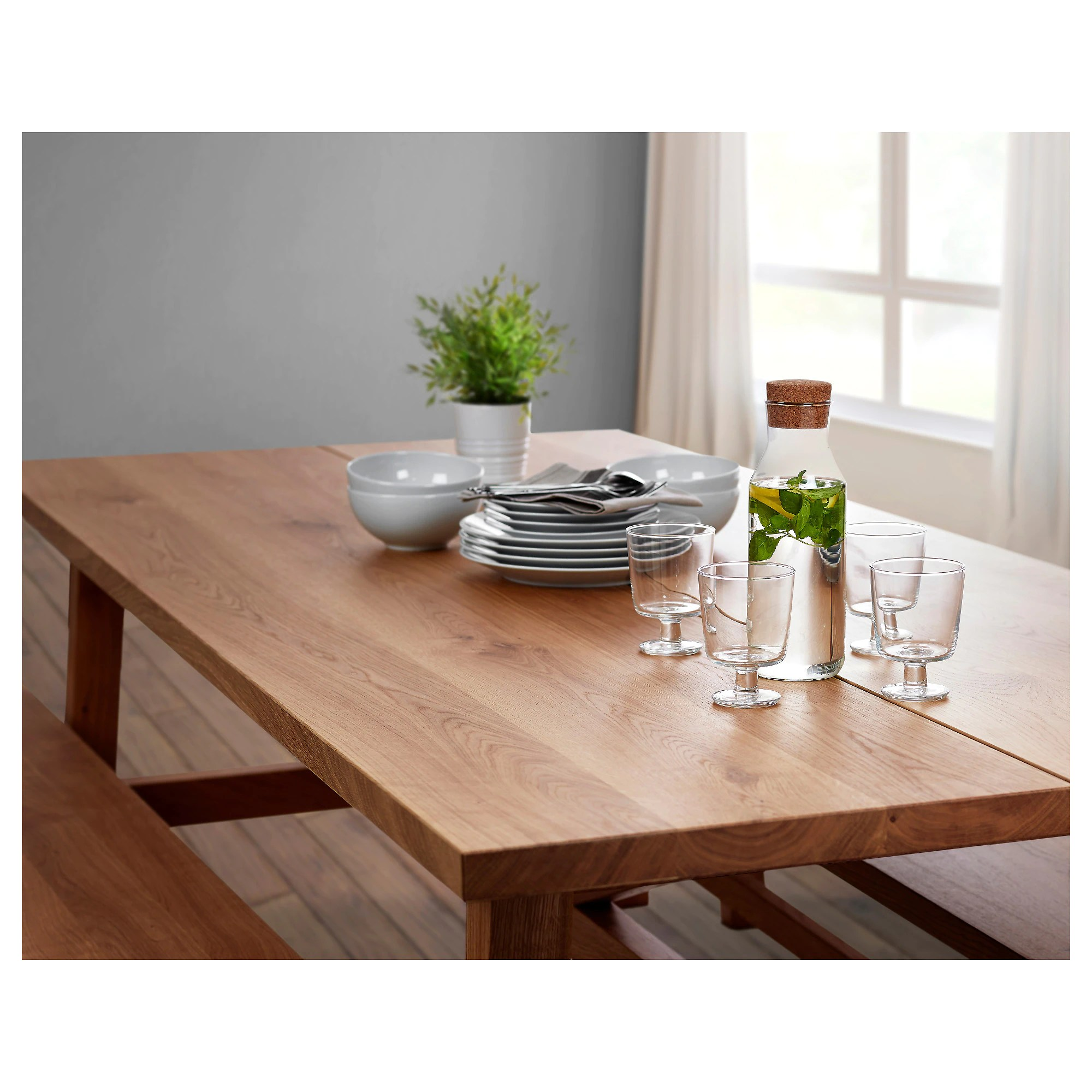 Ikea Table MÖckelby Table Oak
