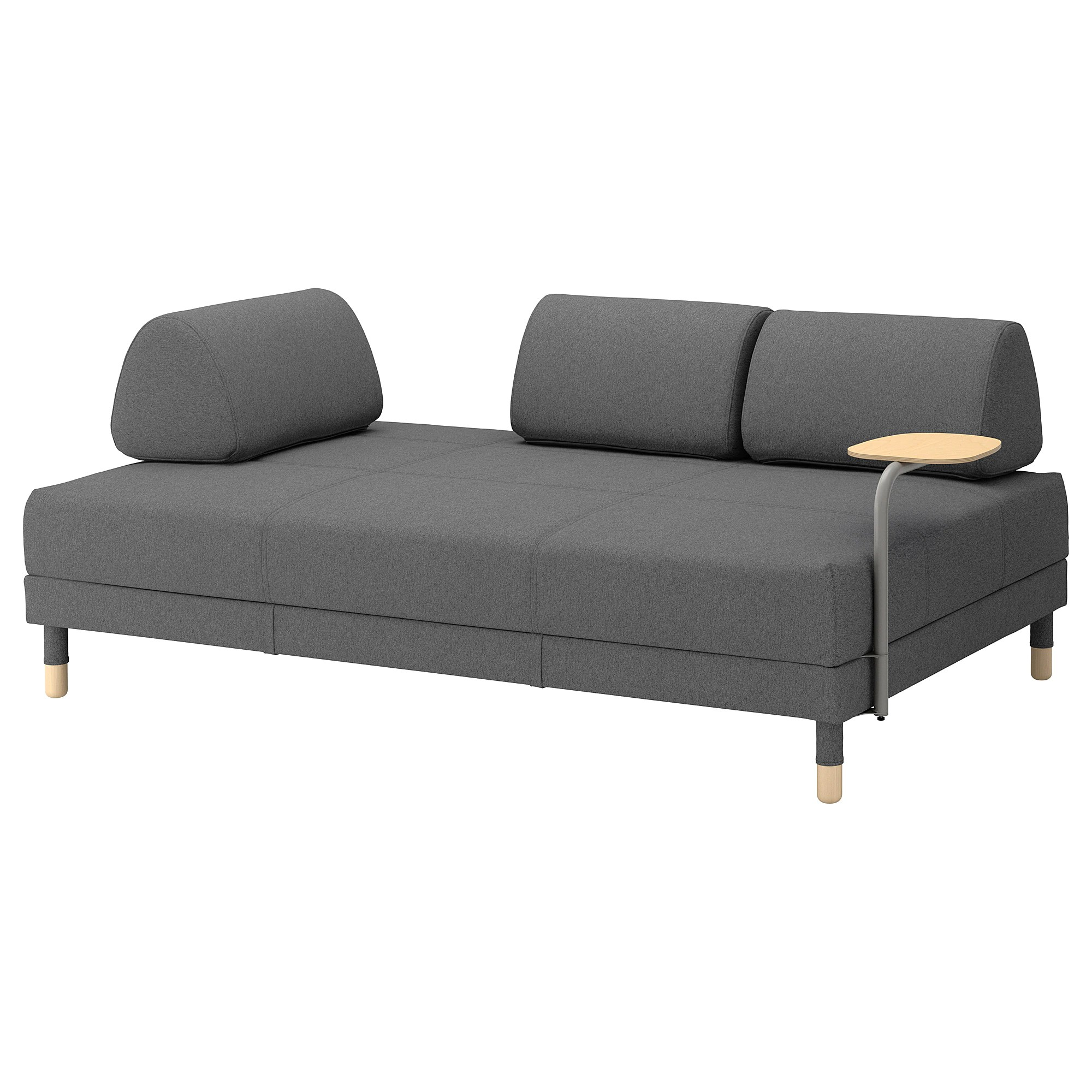 Bettsofa Outlet Flottebo Sleeper Sofa With Side Table Lysed Green