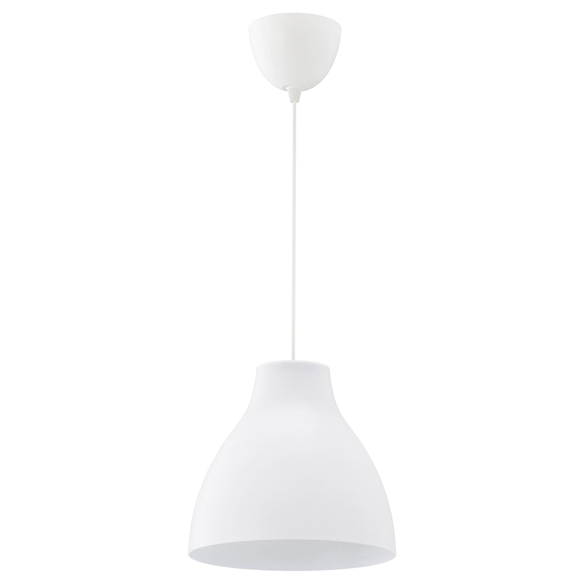 Lustre Ikea A Monter Suspension Melodi Blanc