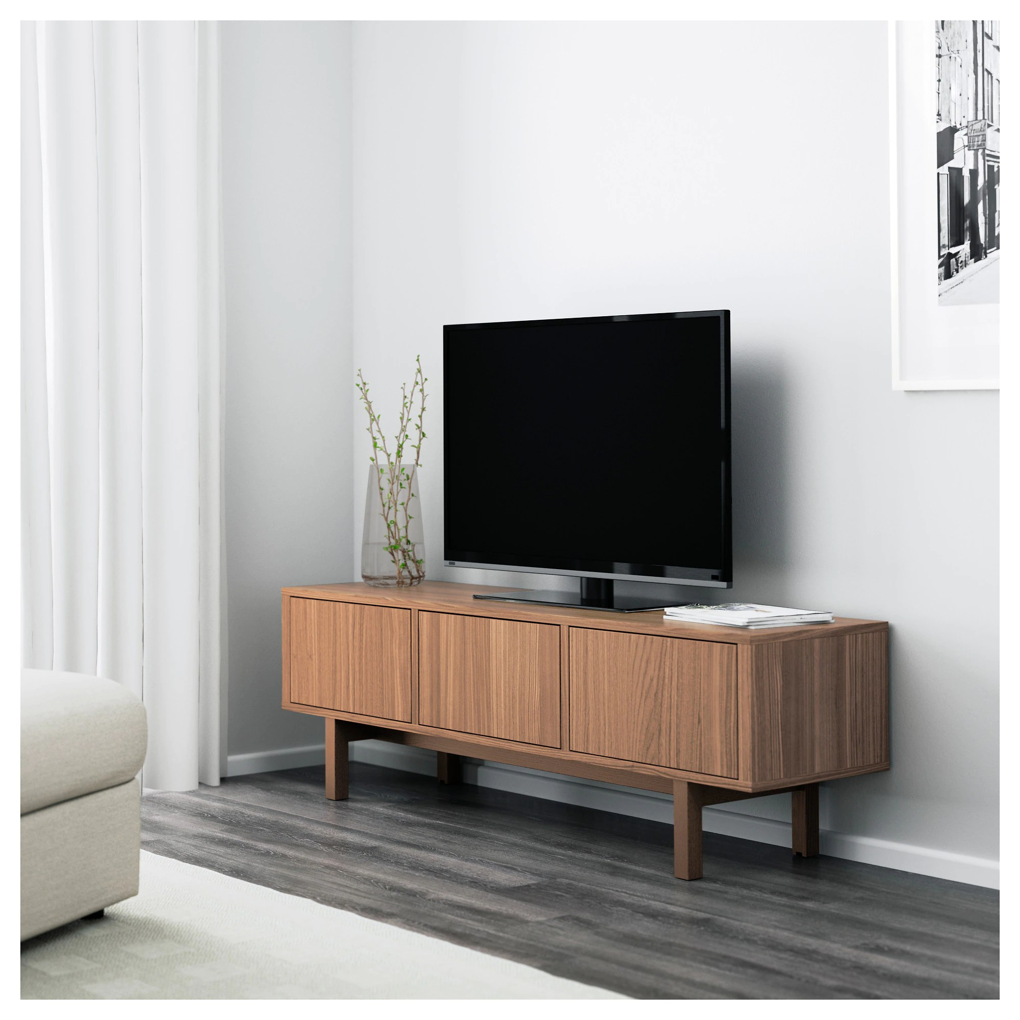 Ikea Tv Sideboard Stockholm Tv Meubel Walnootfineer