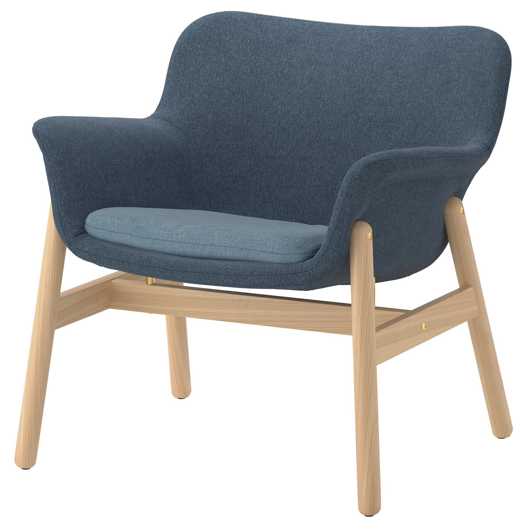 Ikea Sessel Pink Armchair Vedbo Gunnared Blue