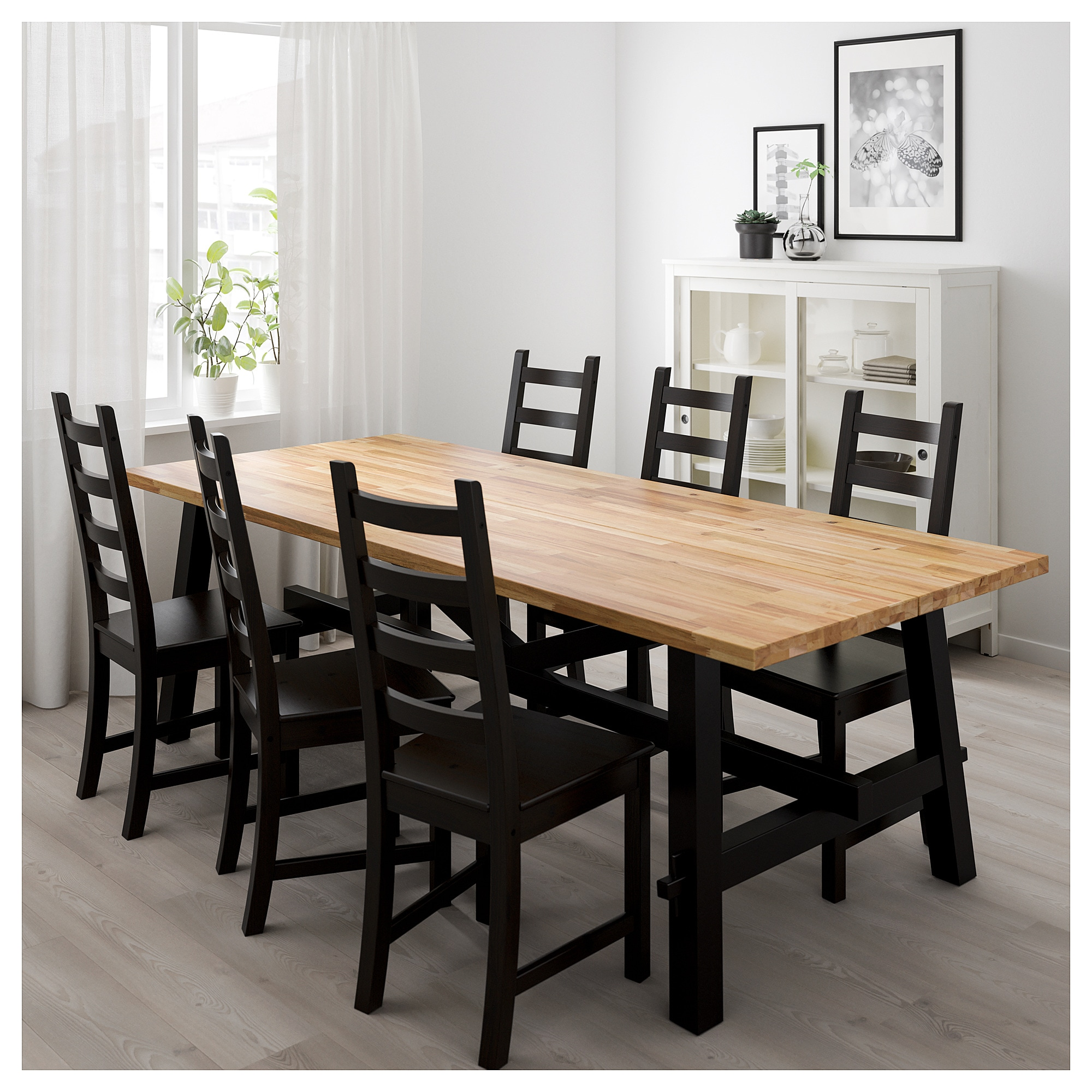 Ikea Dining Table Skogsta Dining Table Acacia