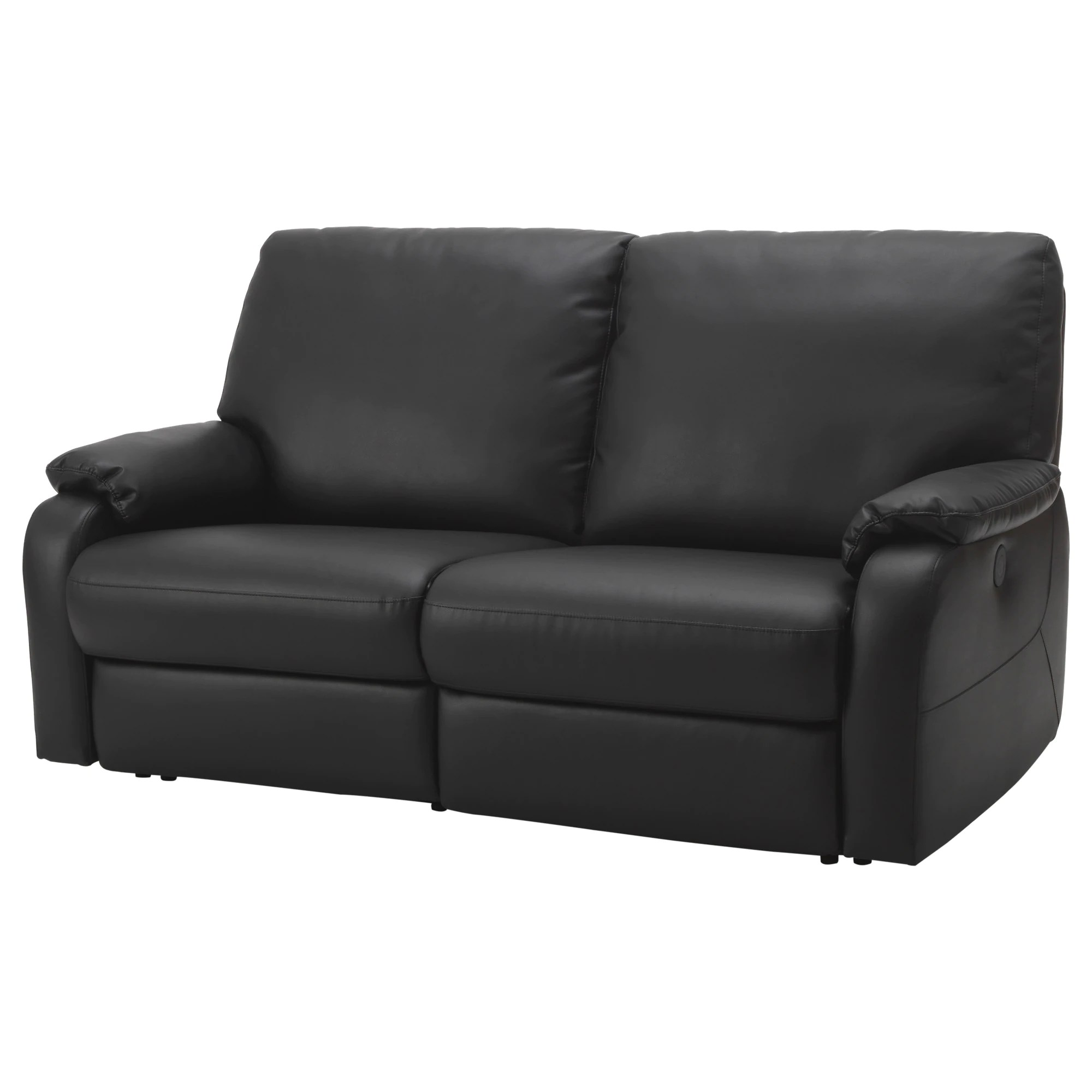 And Sofa TombÄck Sofa With Adjustable Seat Back Kimstad Black