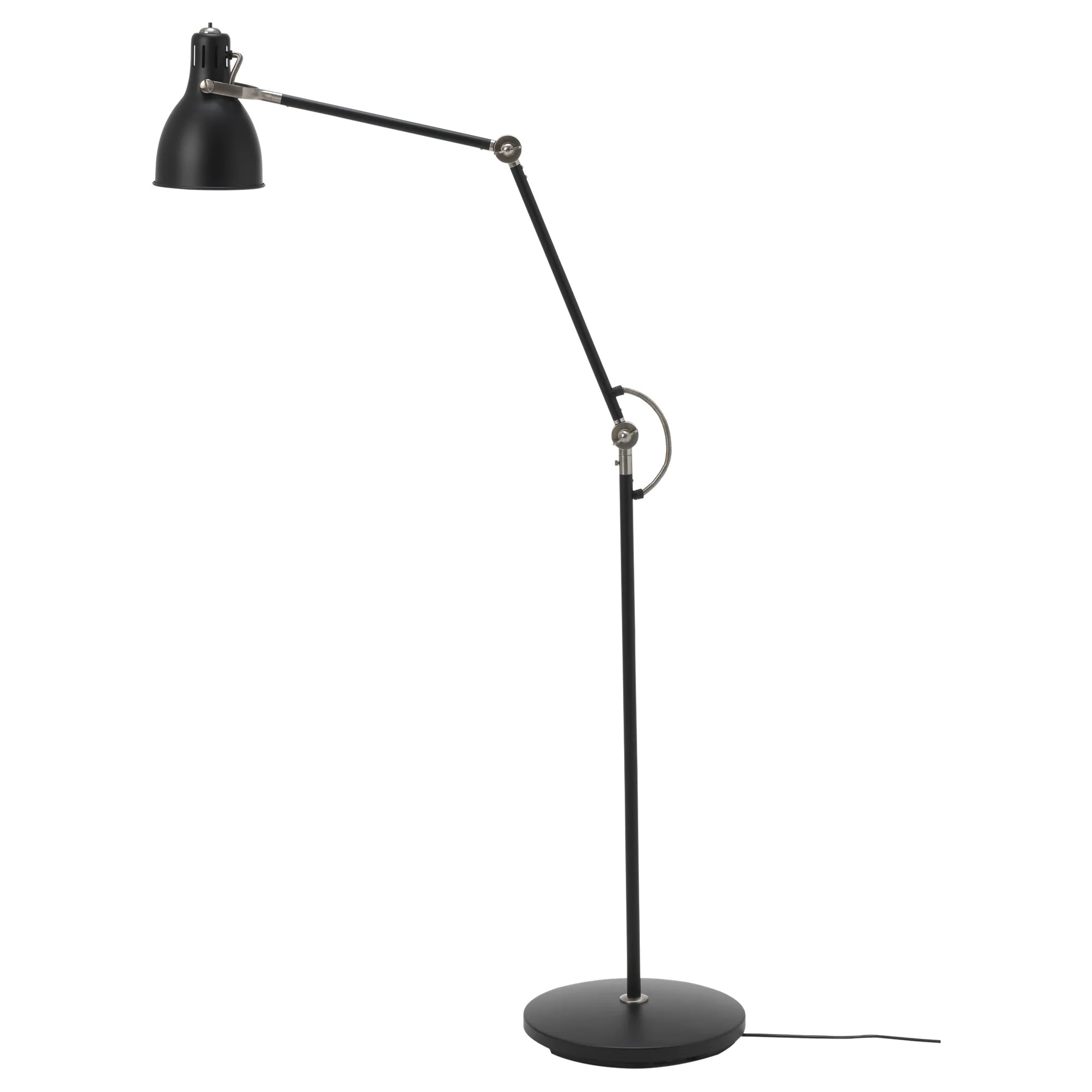 Ikea Reading Lamp ArÖd Floor Reading Lamp With Led Bulb Dark Gray Anthracite