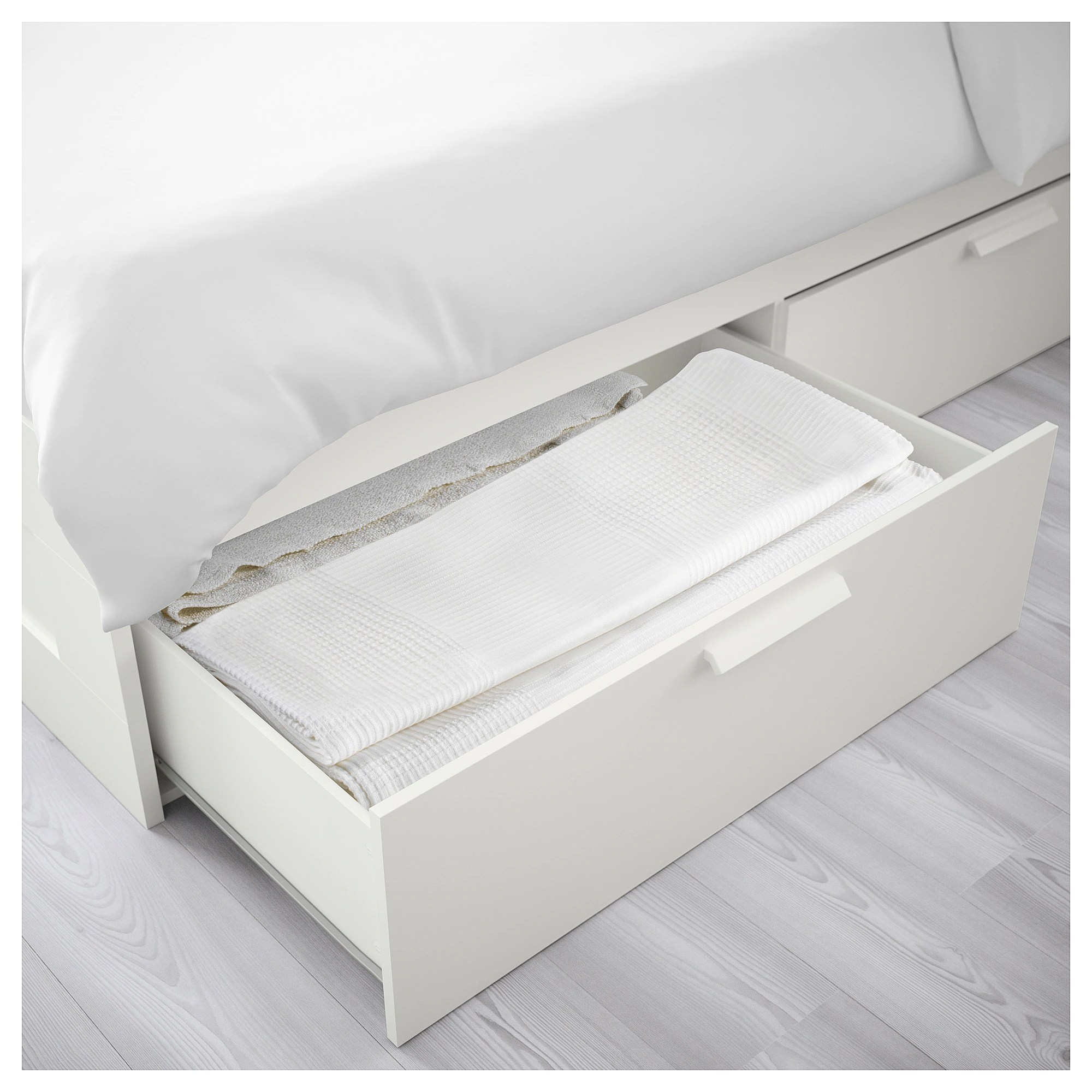 Ikea Brimnes Bett 160x200 Brimnes Bed Frame With Storage White Luröy