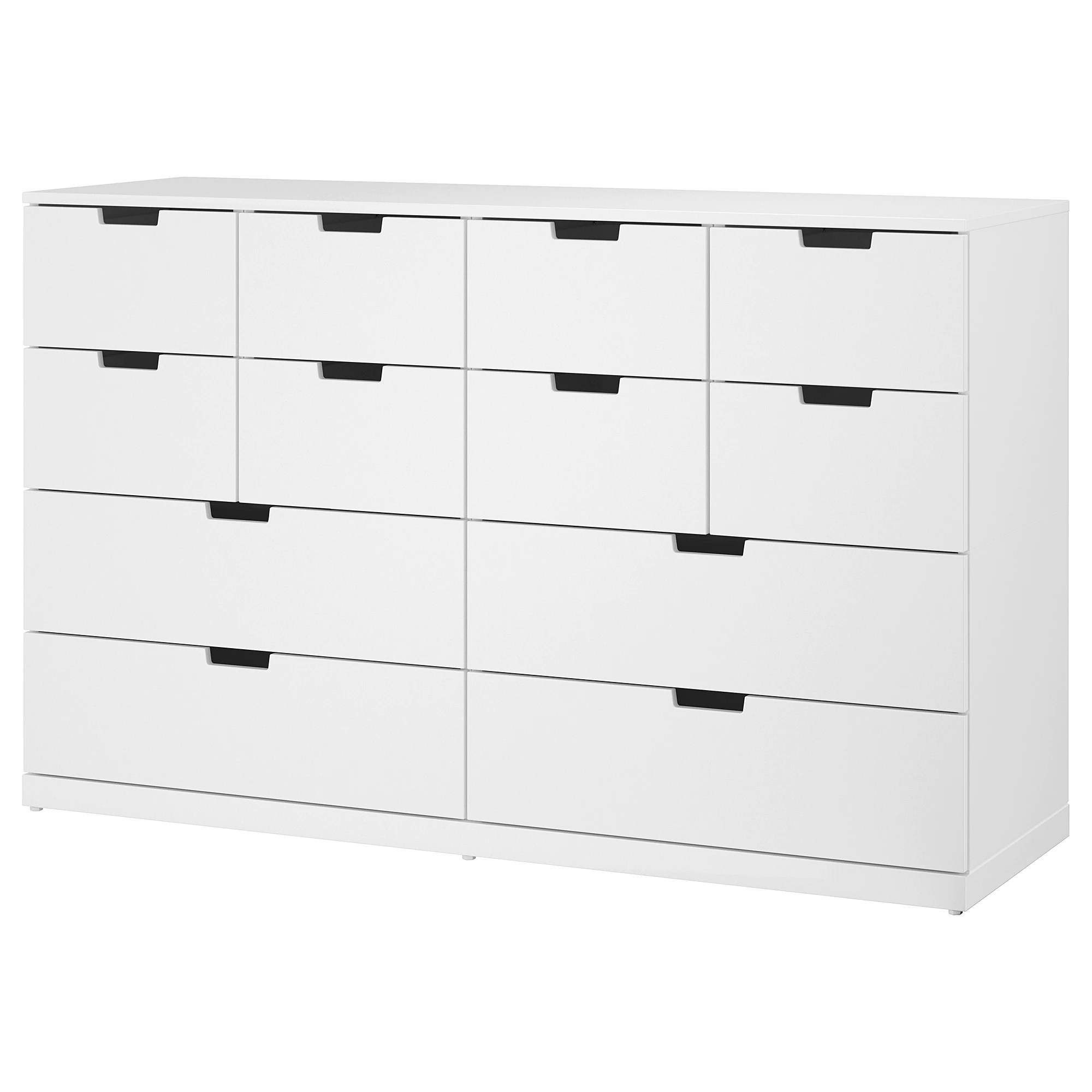 12 Drawer Chest Of Drawers Nordli 12 Drawer Chest White