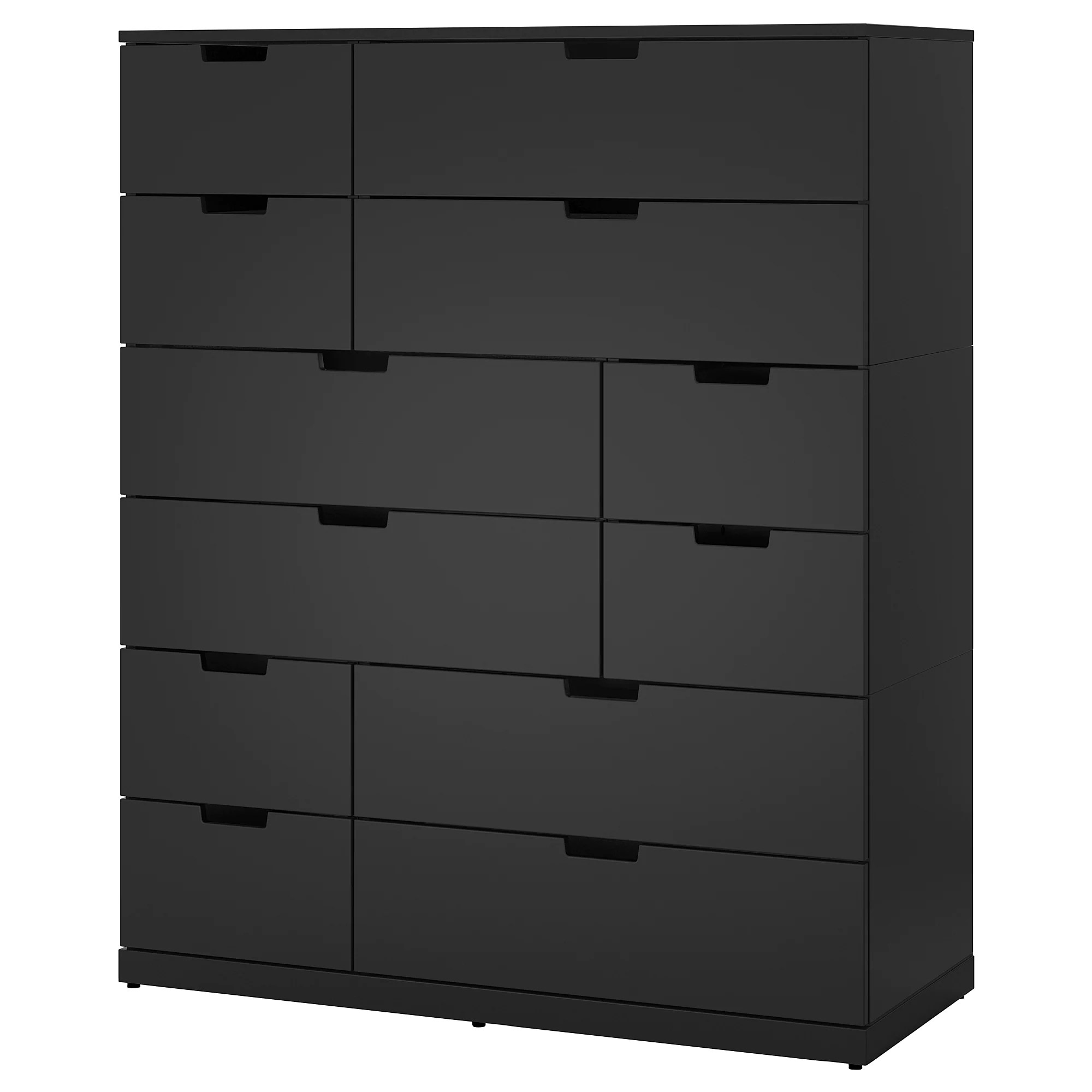 12 Drawer Chest Of Drawers Nordli 12 Drawer Chest Anthracite