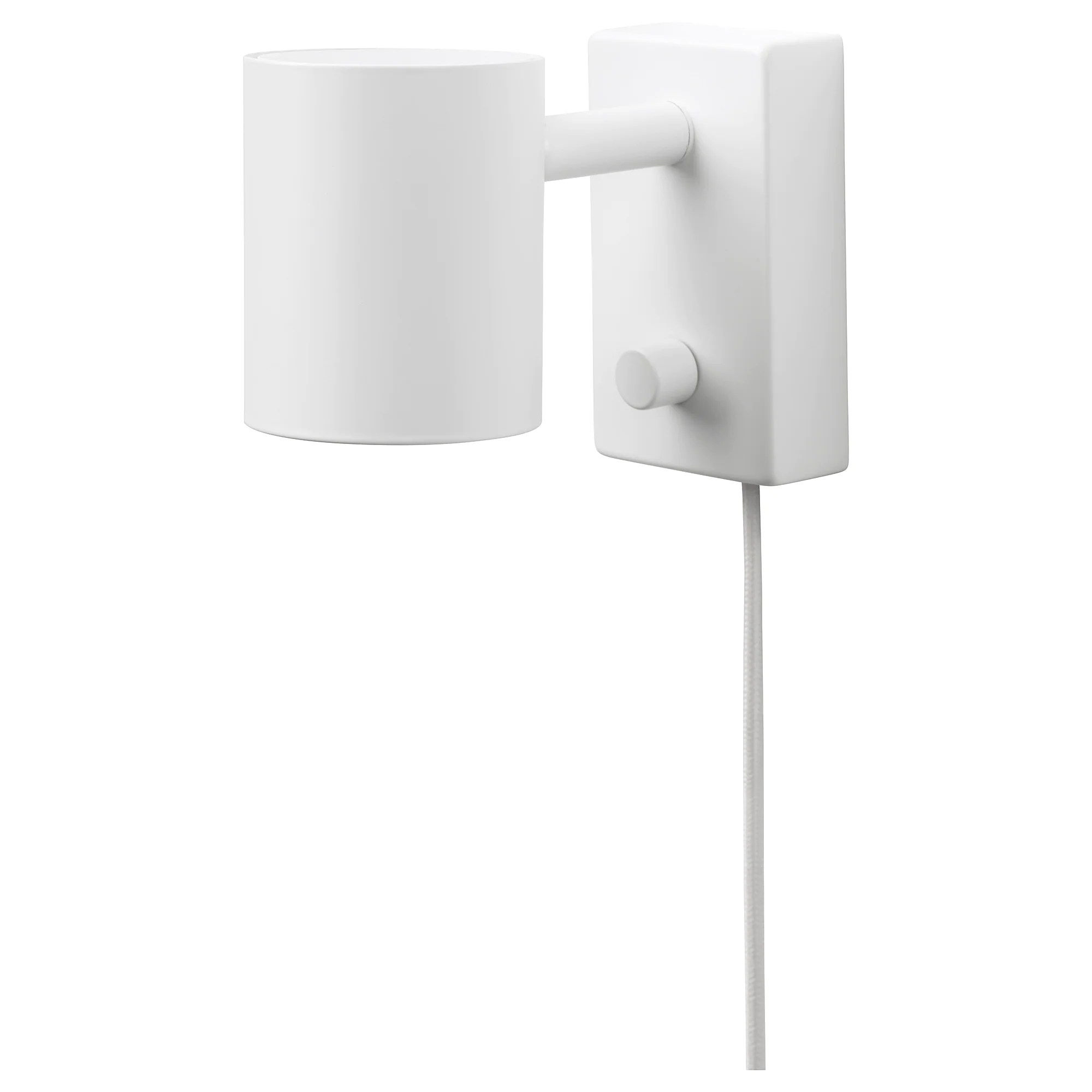 Led Hanglamp Ikea NymÅne Wall Reading Lamp With Led Bulb White