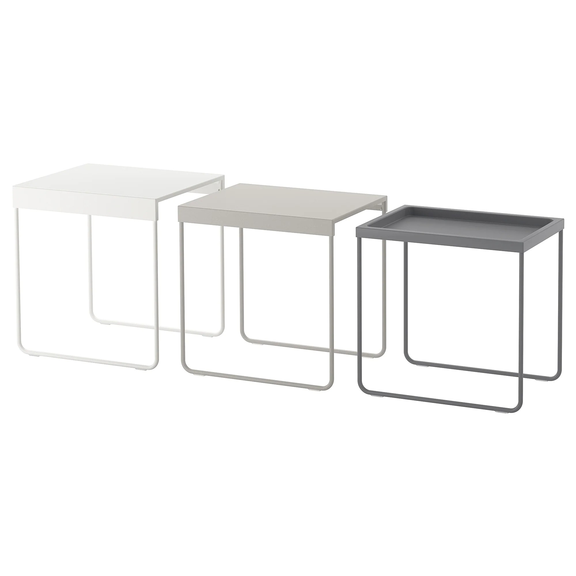 Ikea Freiburg Jobs Granboda Nesting Tables Set Of 3