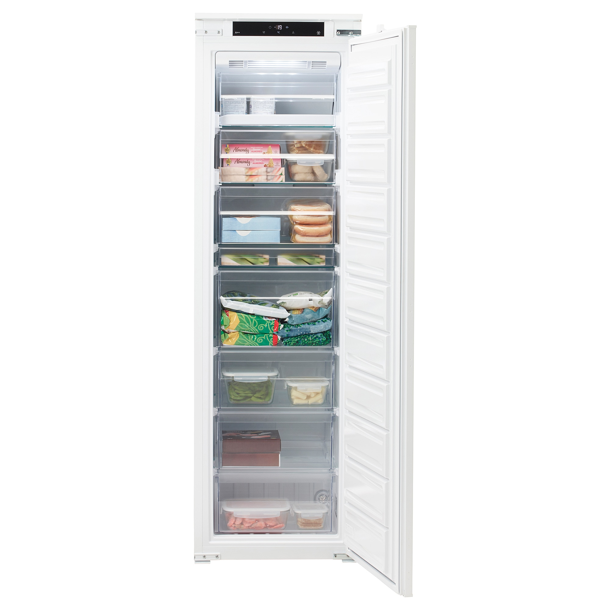 No Frost Integrated Freezer A Frysa No Frost White