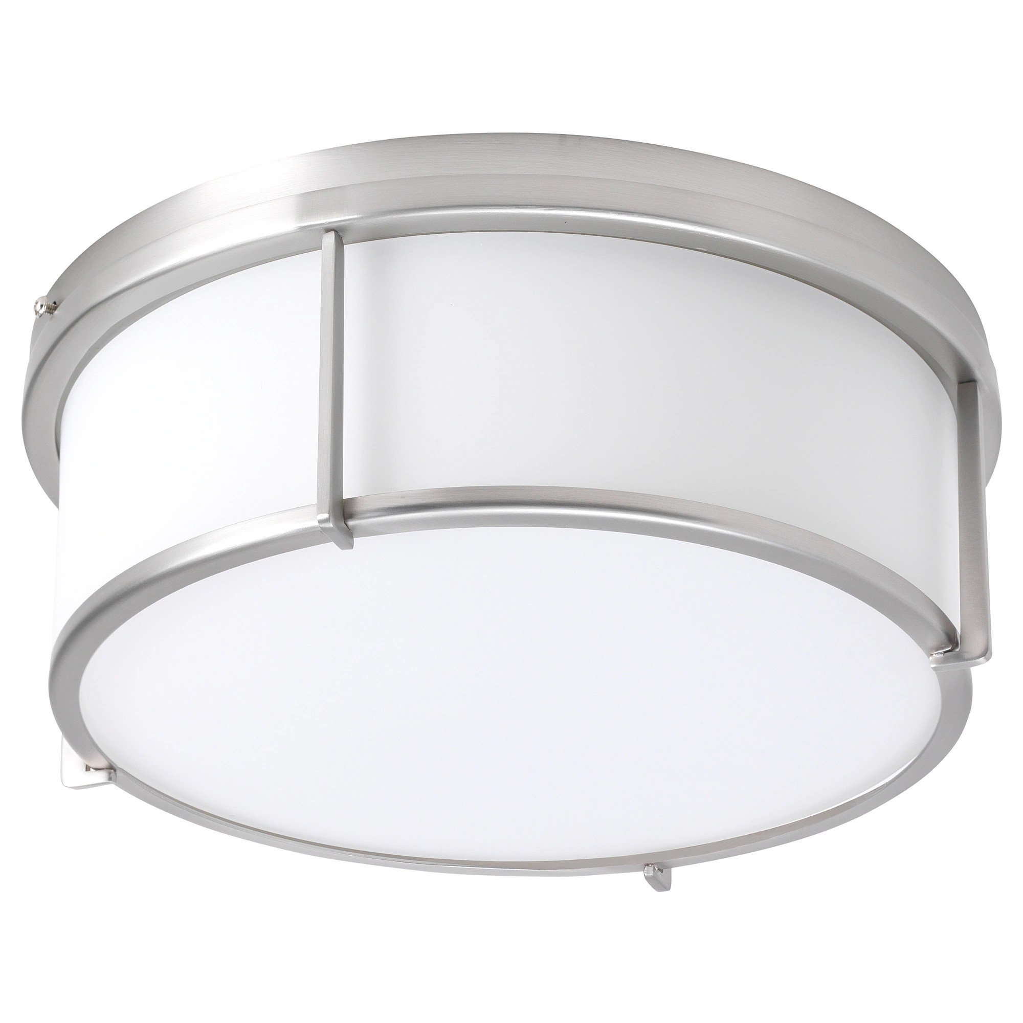 Glass Lamp Ceiling Ceiling Lamp Kattarp Glass Nickel Plated
