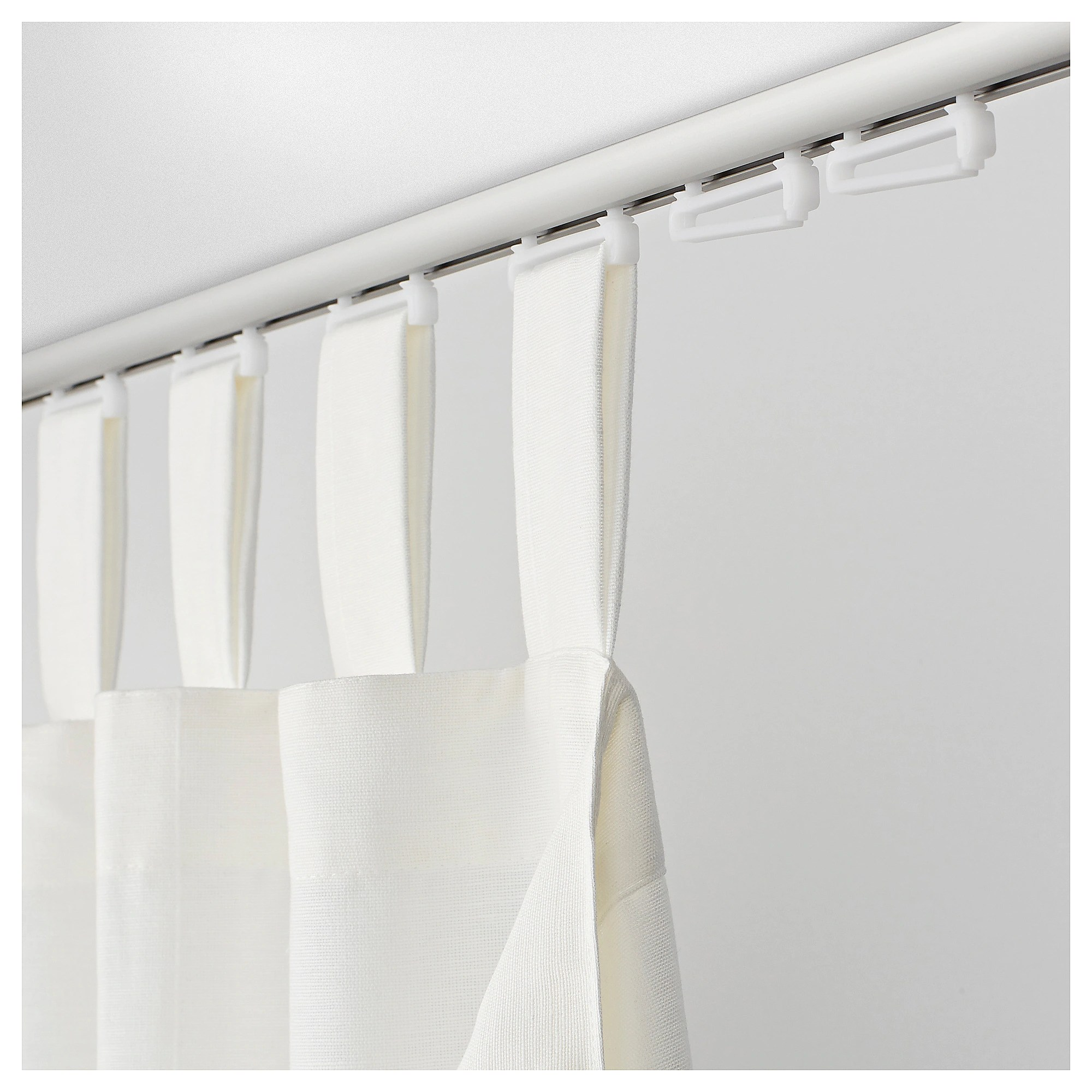 Schlaufengardinen TrÖsta Slider For Loop Curtain Maxi White