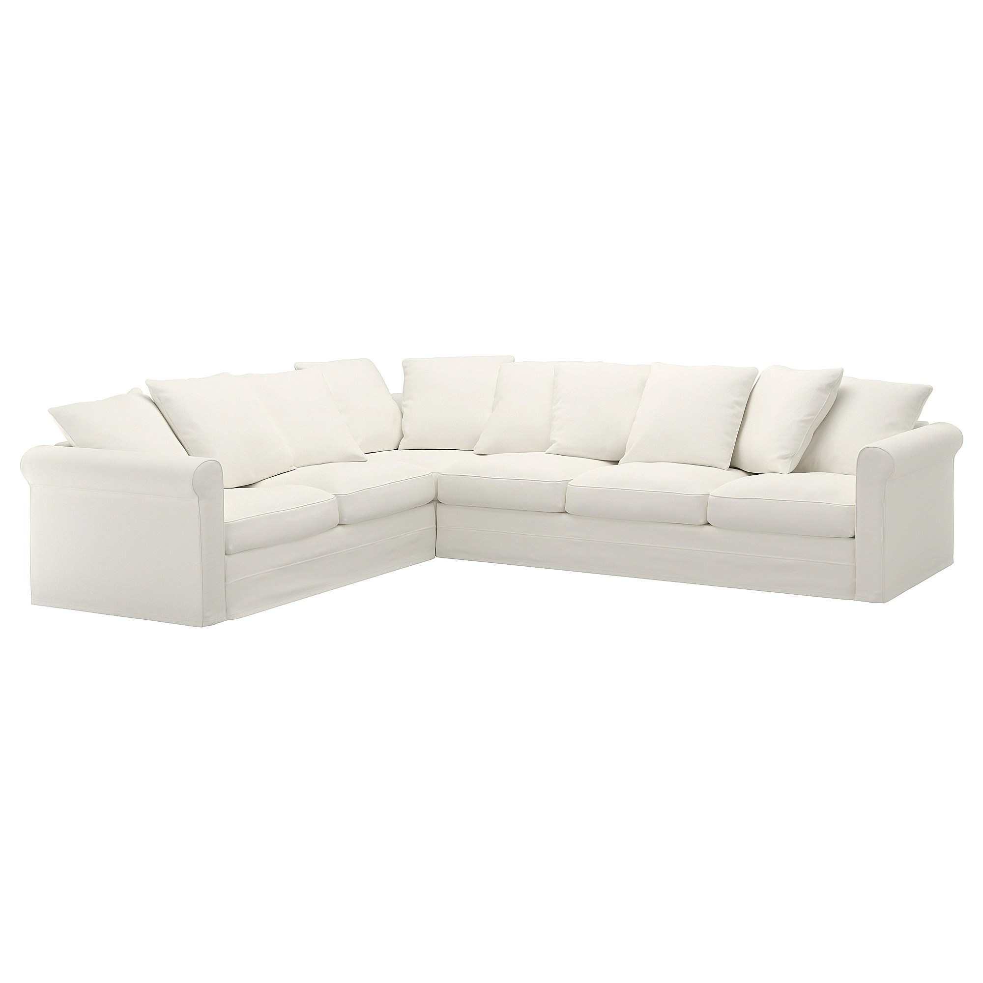 Sectional Corner Couch GrÖnlid Sectional 5 Seat Corner Inseros White