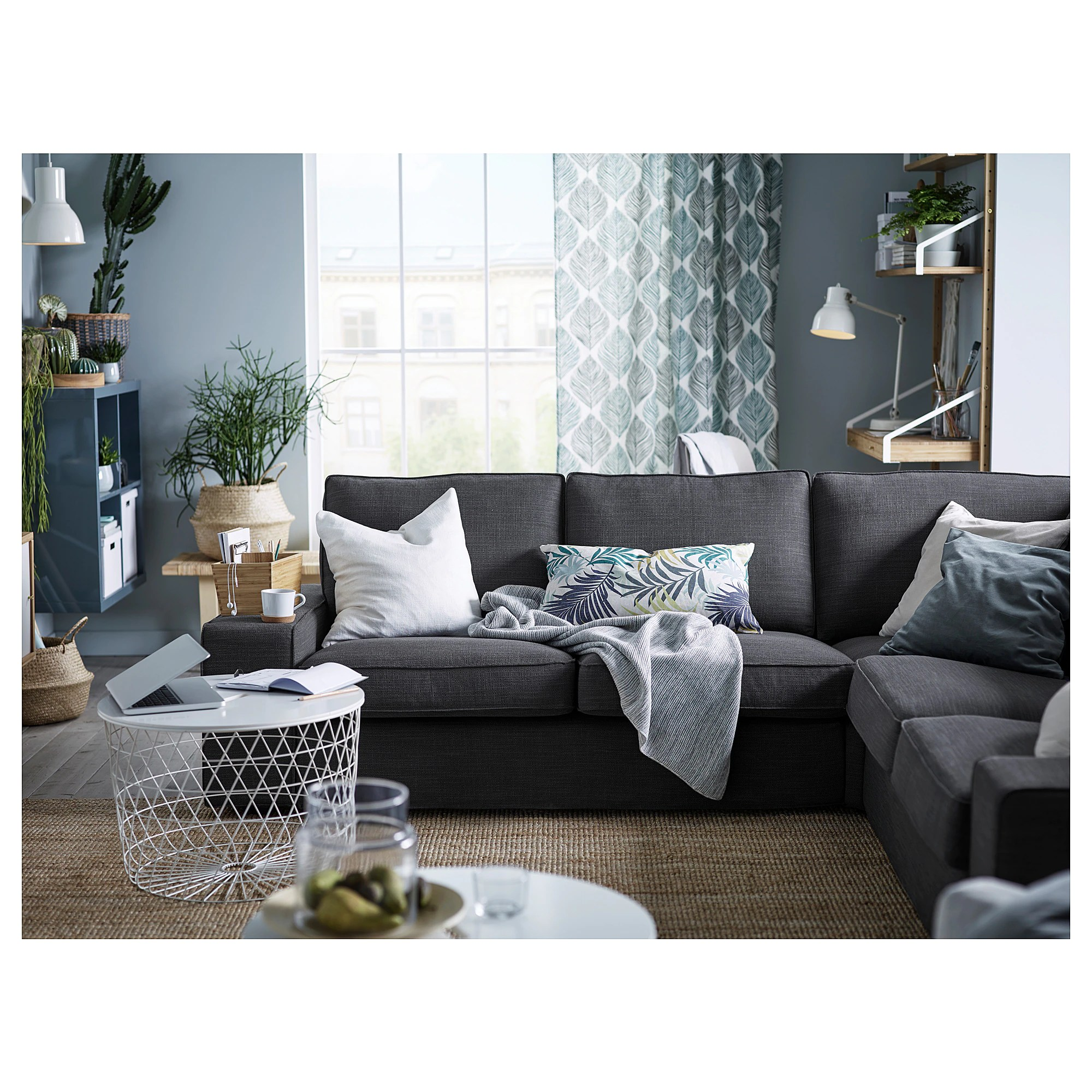 Kivik Sectional Ikea Living Room Ideas Kivic Simple Small House Design