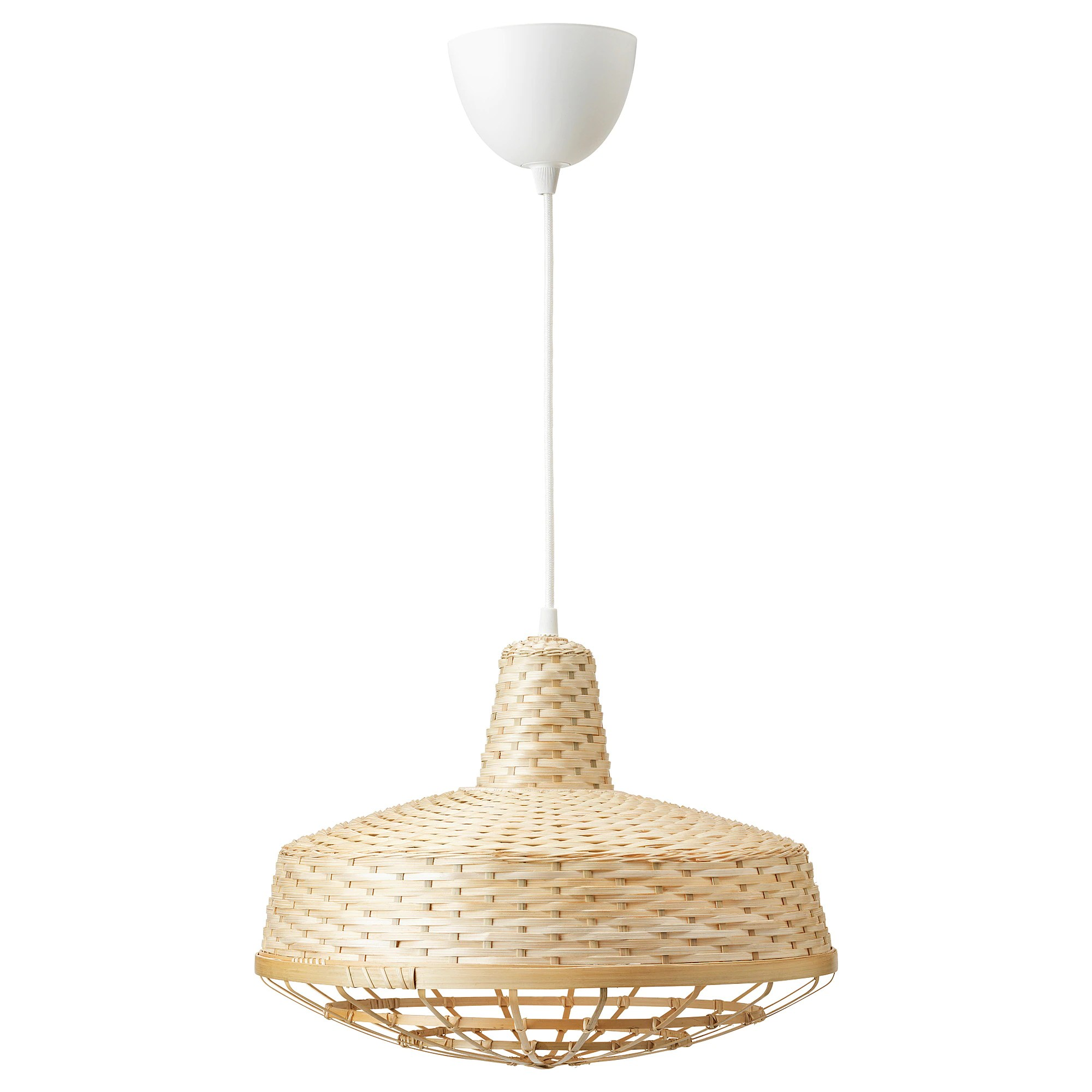 Suspension Ikea Paille Suspension Industriell Bambou