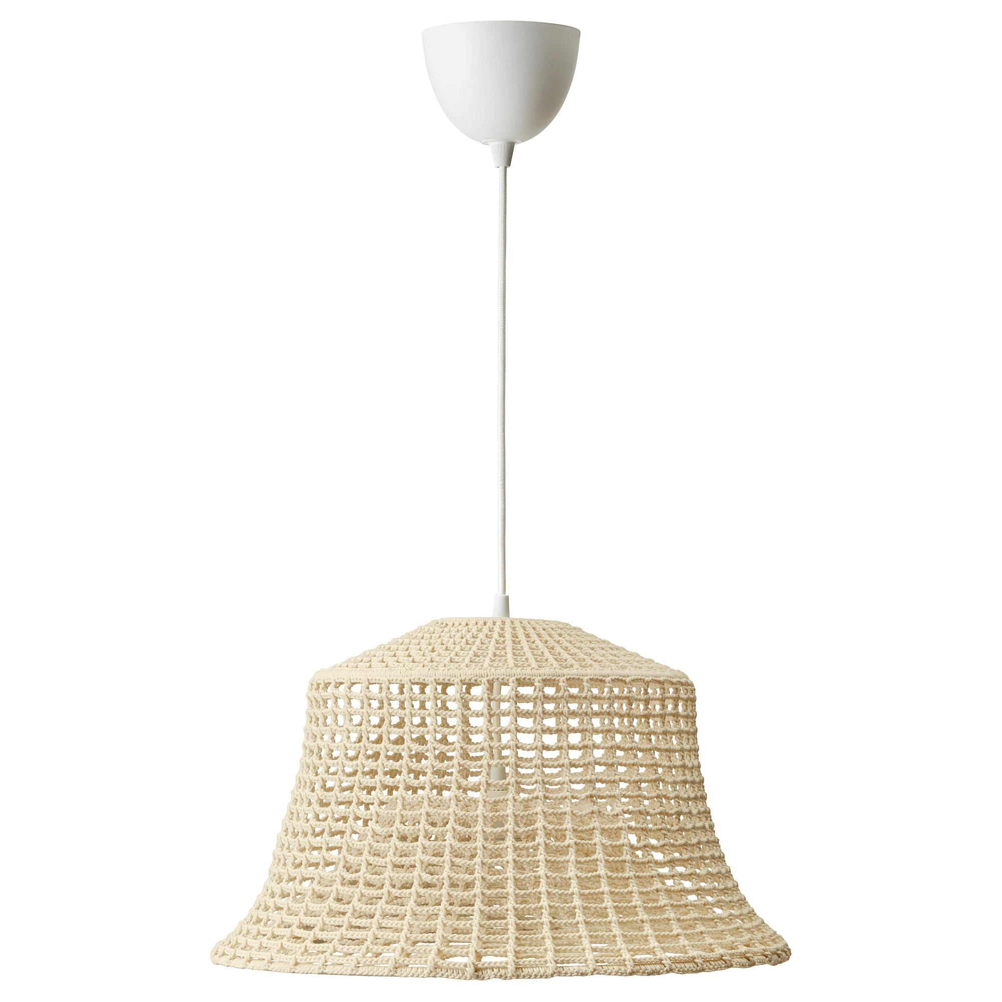Led Hanglamp Ikea Industriell Pendant Lamp Natural Beige