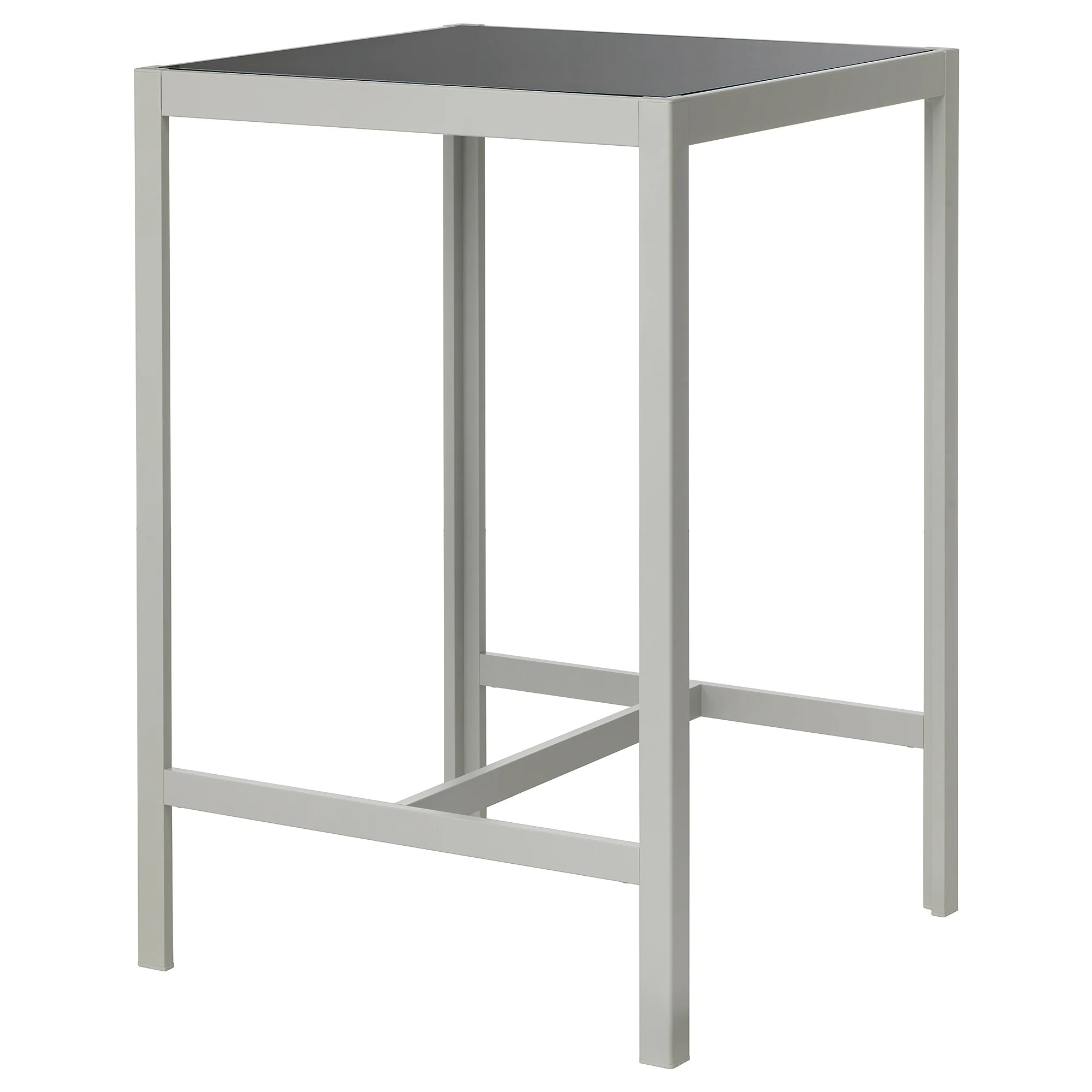 Table Bar Ikea SjÄlland Bar Table Outdoor Glass Gray Light Gray