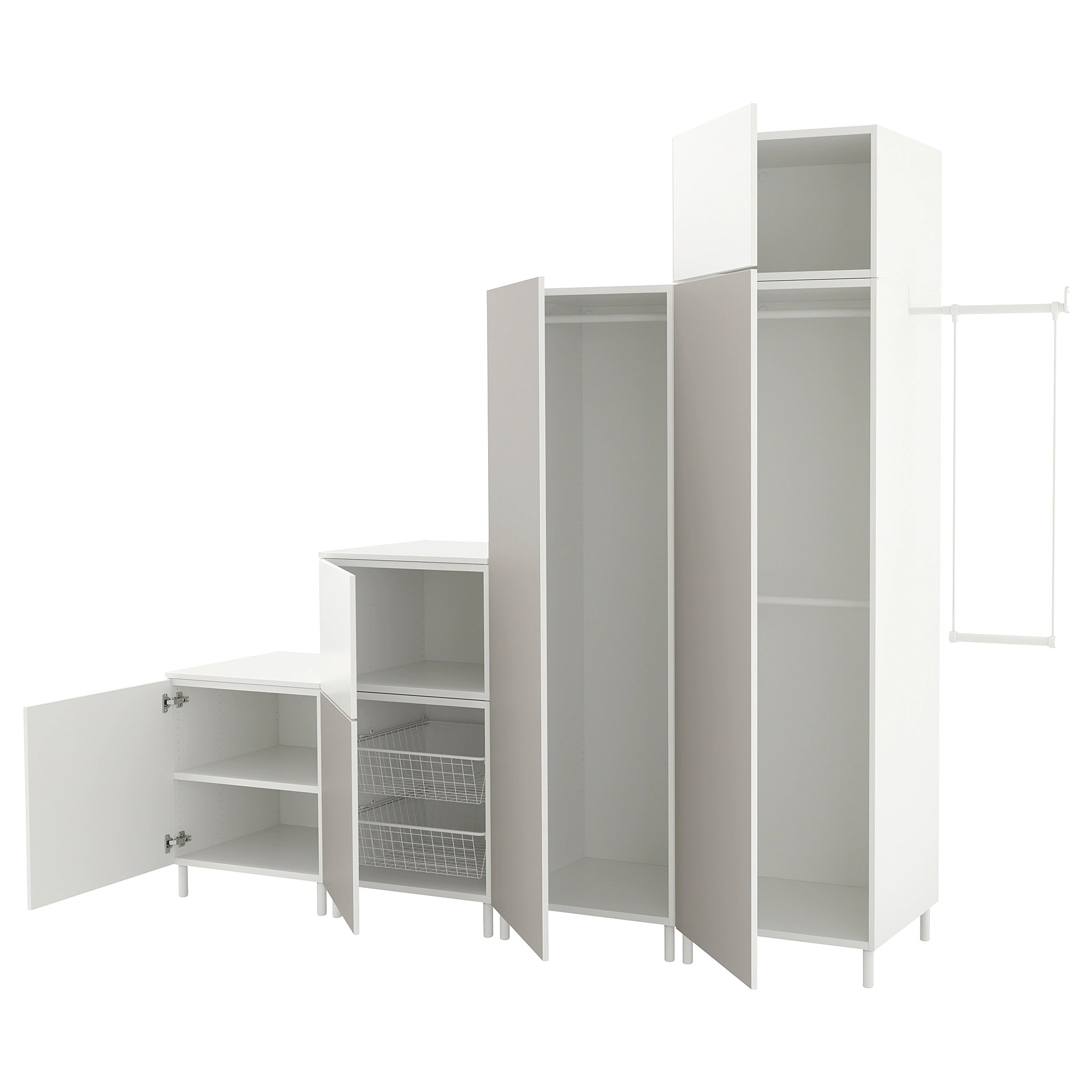 Armoire Dressing 150 Cm Platsa Armoire Penderie Home Garden And Kitchen