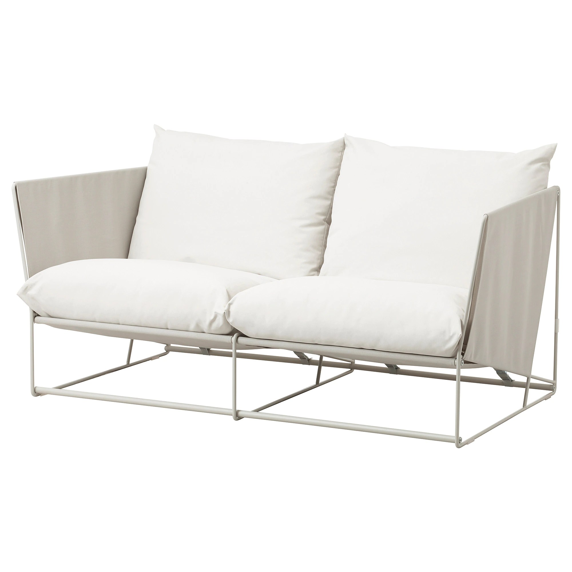Ikea Loveseat Havsten Loveseat In Outdoor Beige