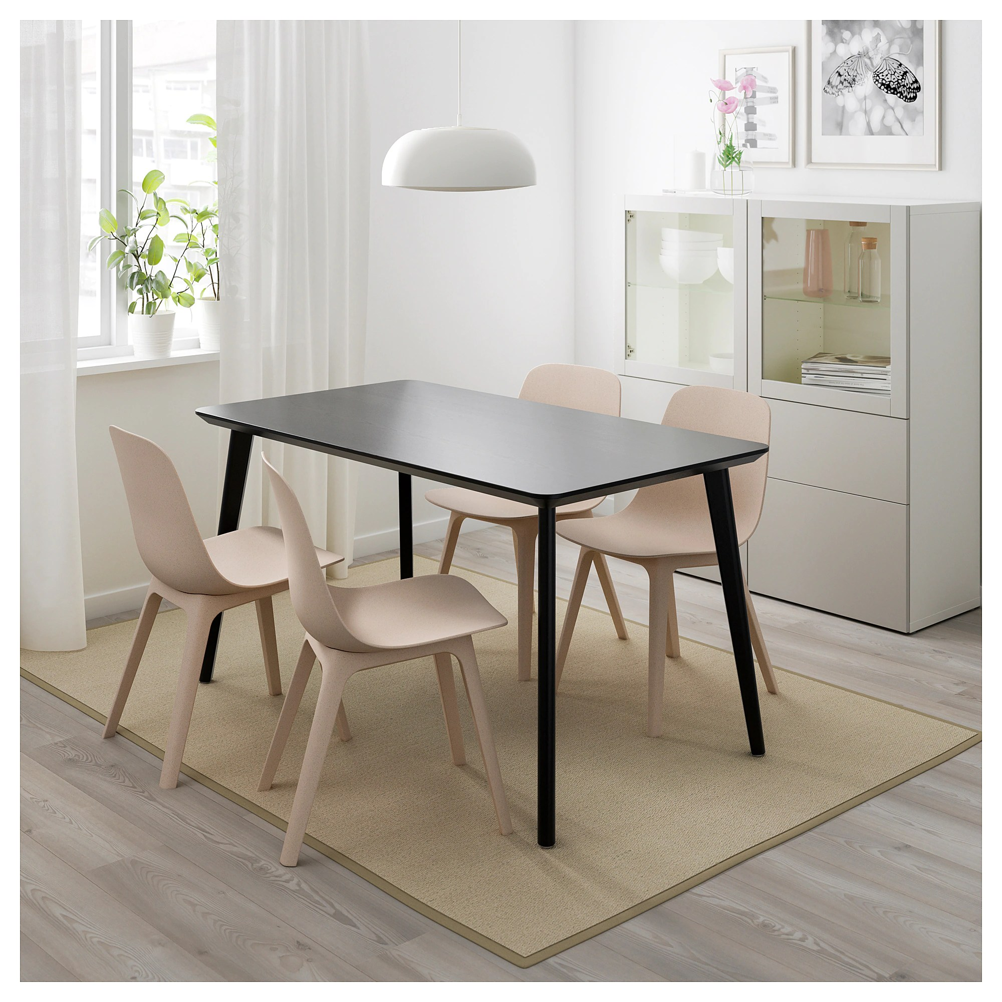 Ikea Table Lisabo Table Black