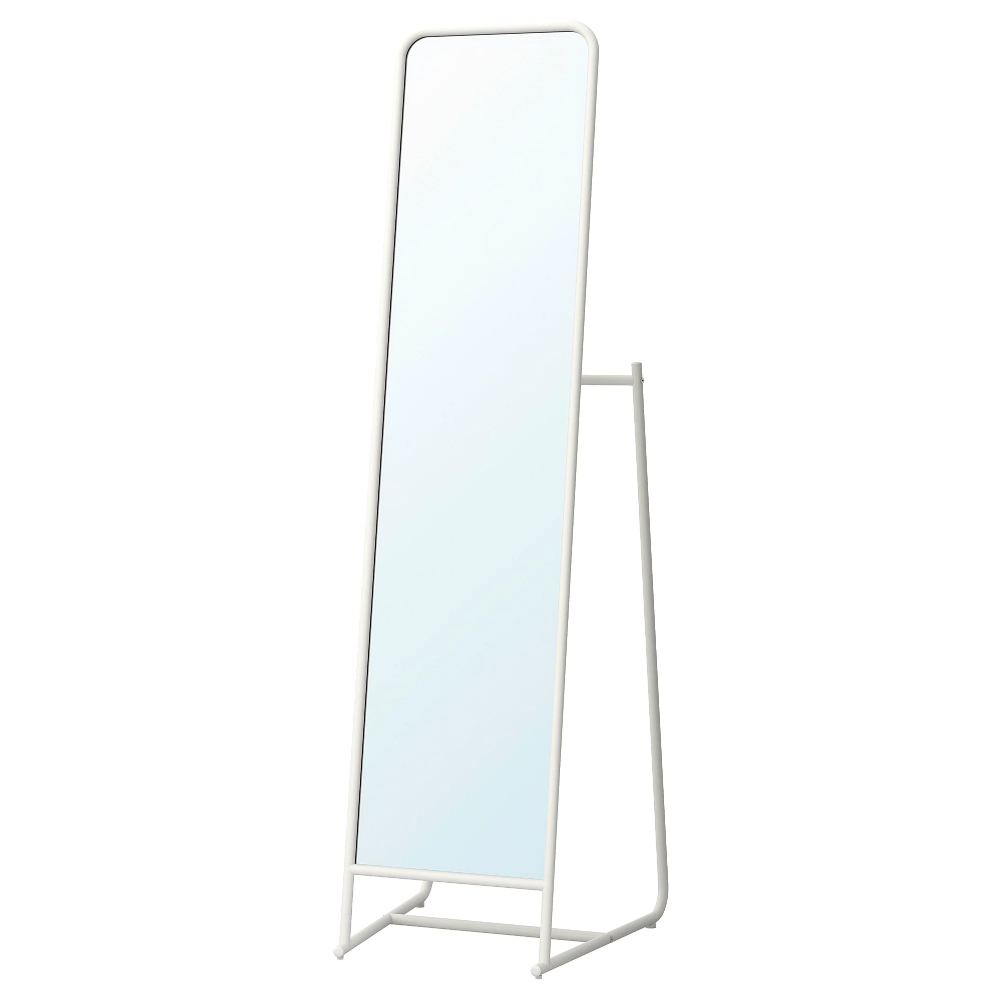 White Floor Mirror Knapper Floor Mirror White