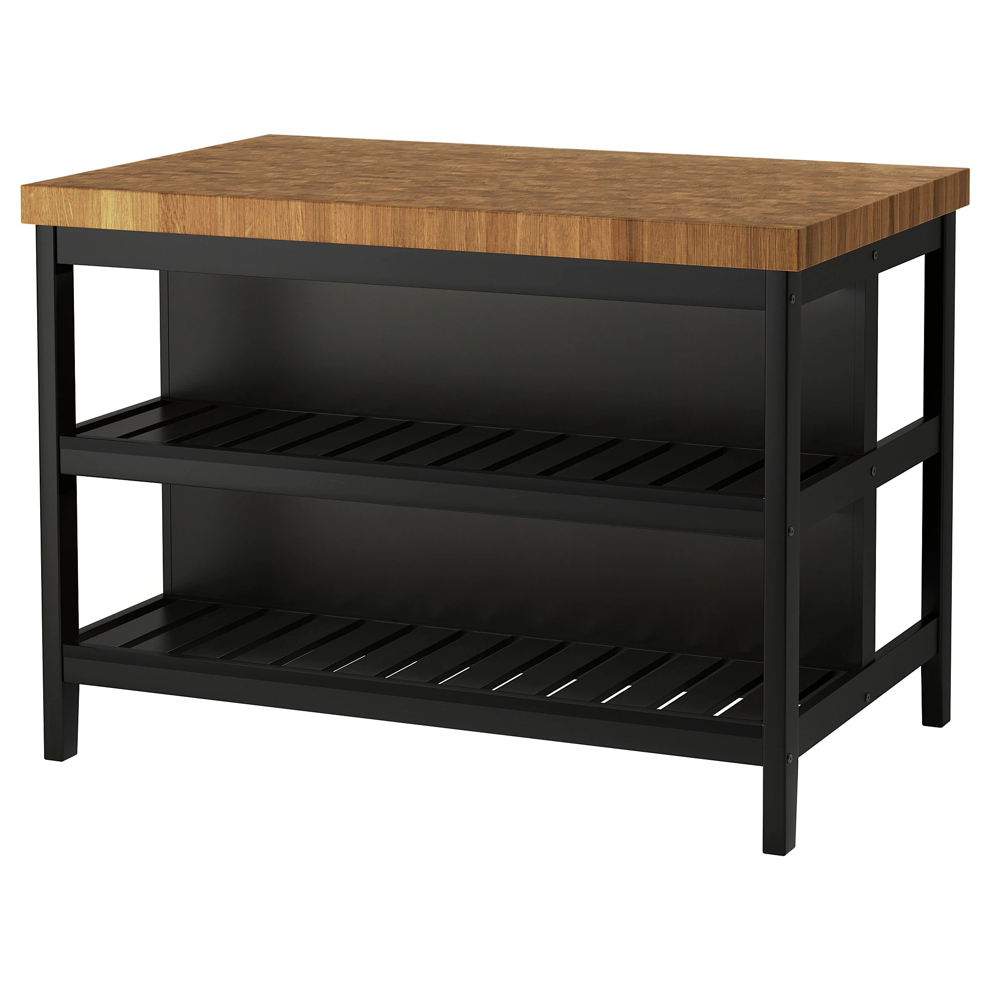 Ikea Kitchen Island Canada Vadholma Kitchen Island Black Oak