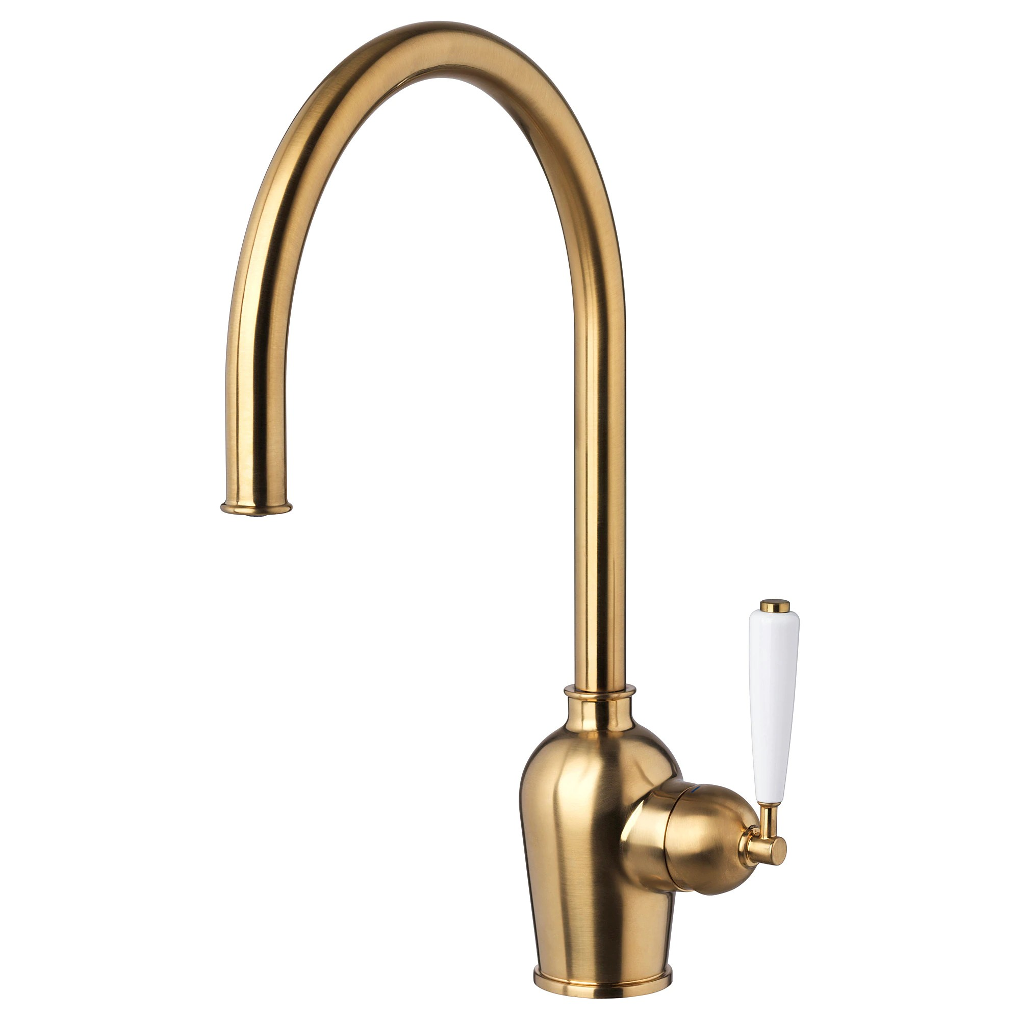Cool Kitchen Faucet InsjÖn Kitchen Faucet Brass Color