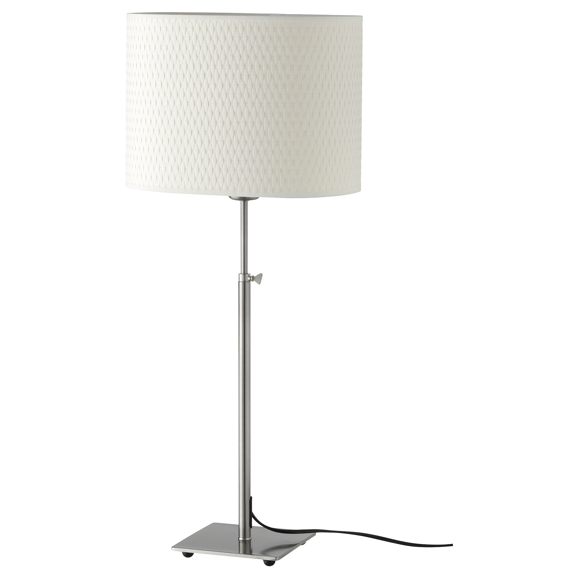 Table Carre Ikea AlÄng Table Lamp Nickel Plated White