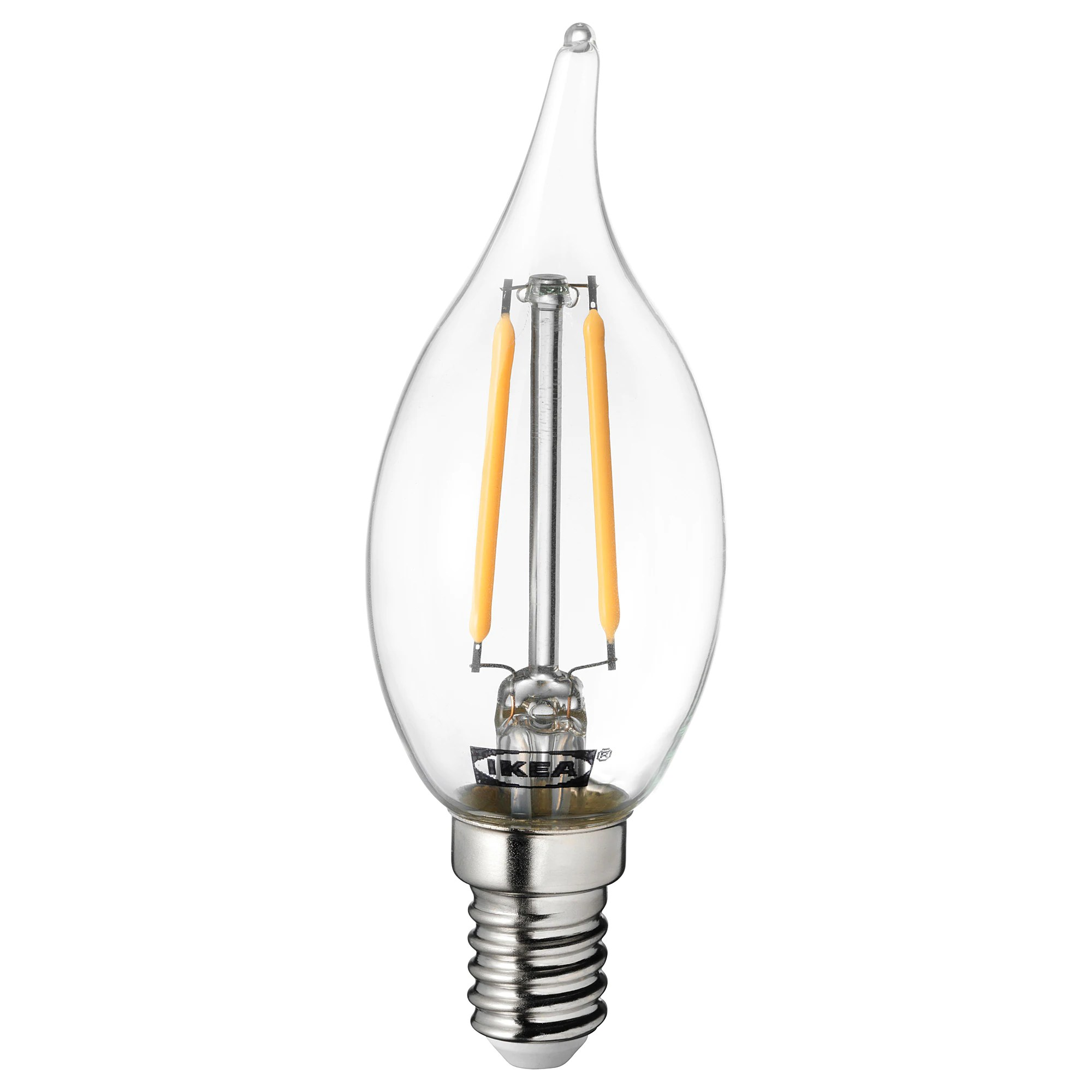 60 E14 Lumen Lunnom Led Bulb E14 200 Lumen Chandelier Clear Glass
