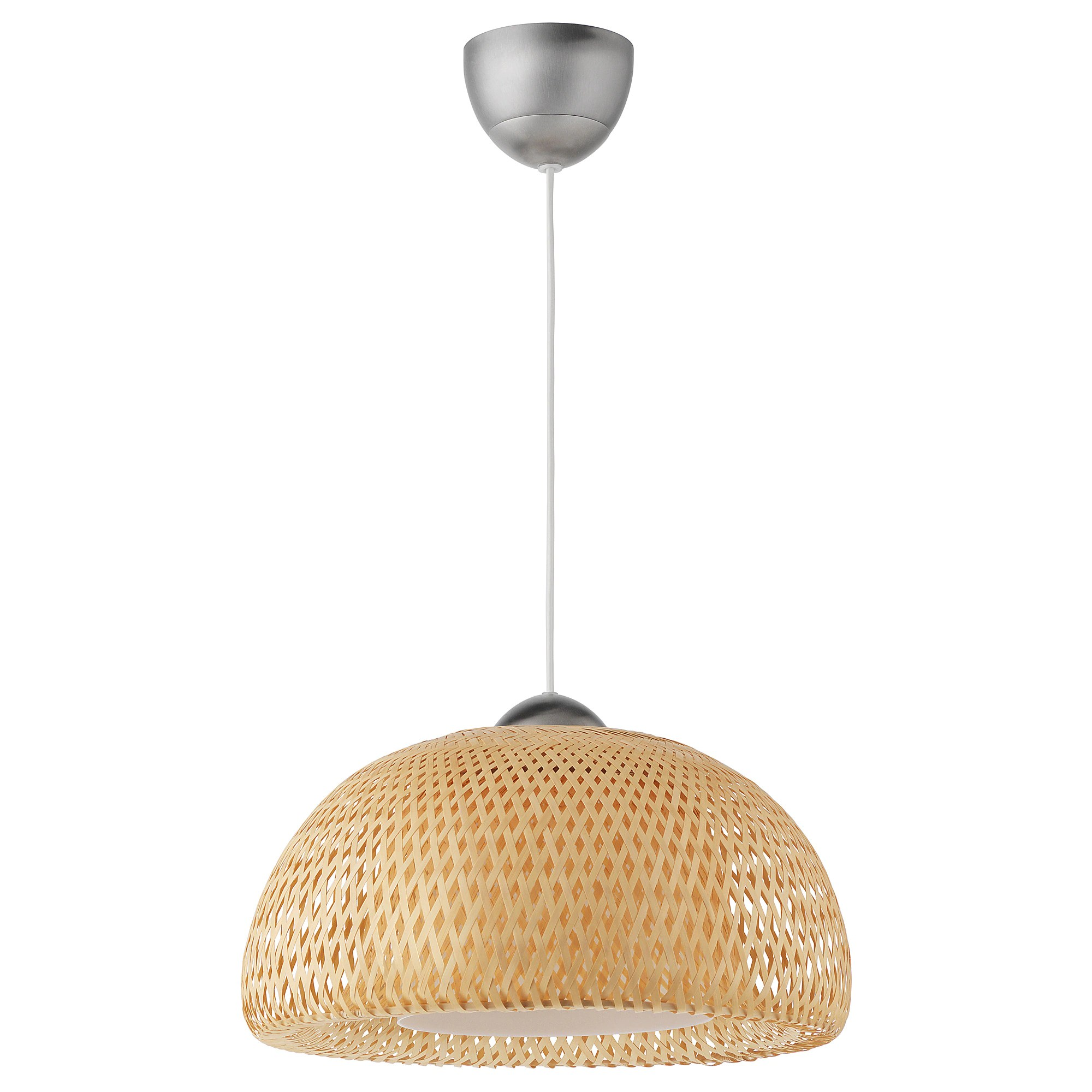 Lustre Ikea A Monter Suspension BÖja Rotin Bambou