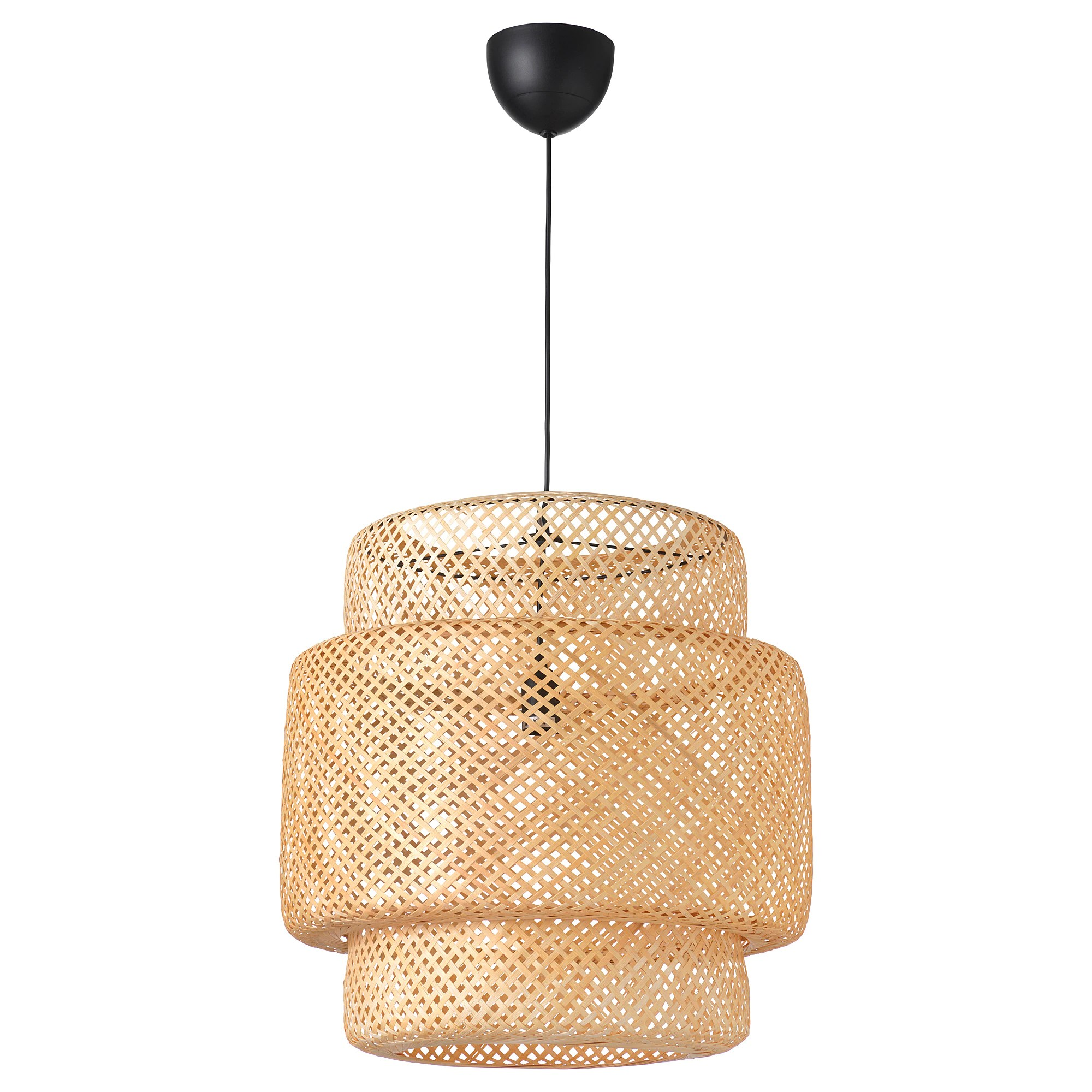 Lustre Ikea A Monter Suspension Sinnerlig Bambou