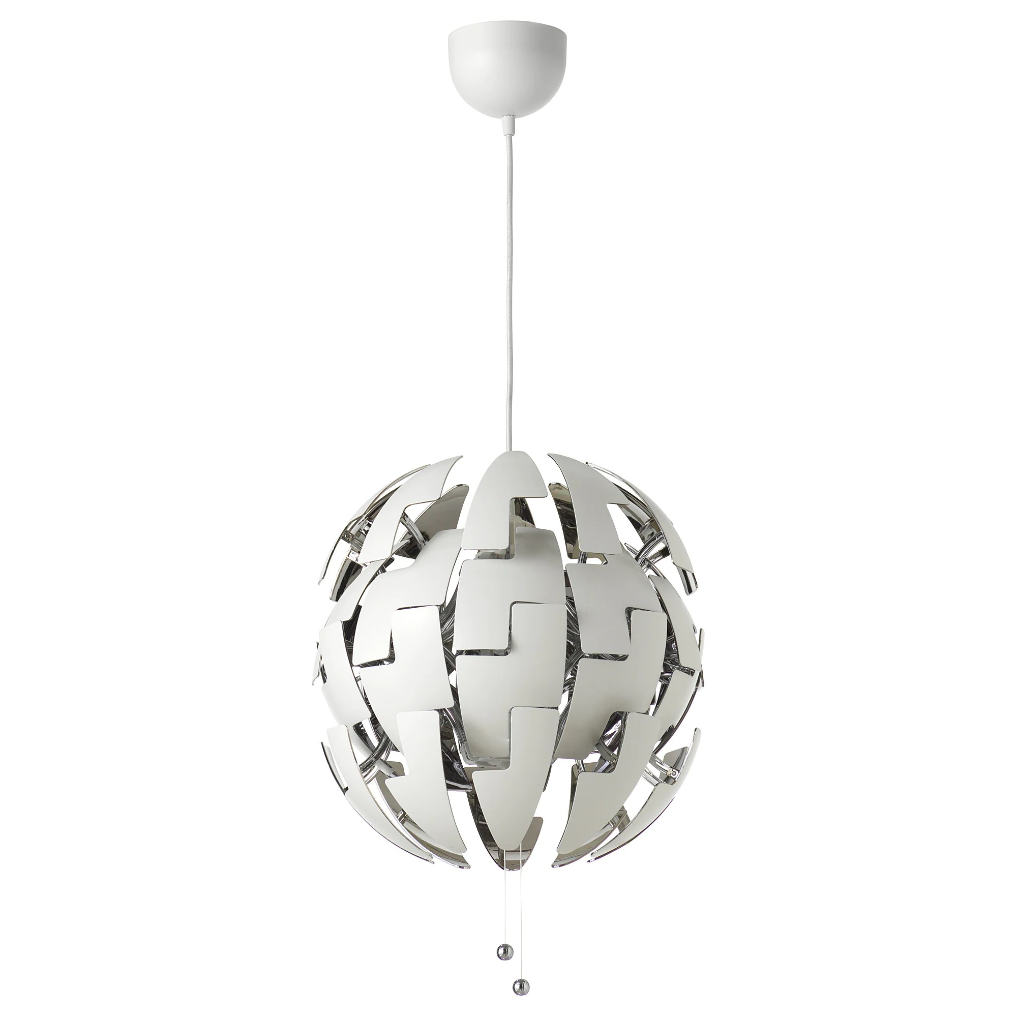 Lustre Ikea A Monter Suspension Ikea Ps 2014 Blanc Couleur Argent