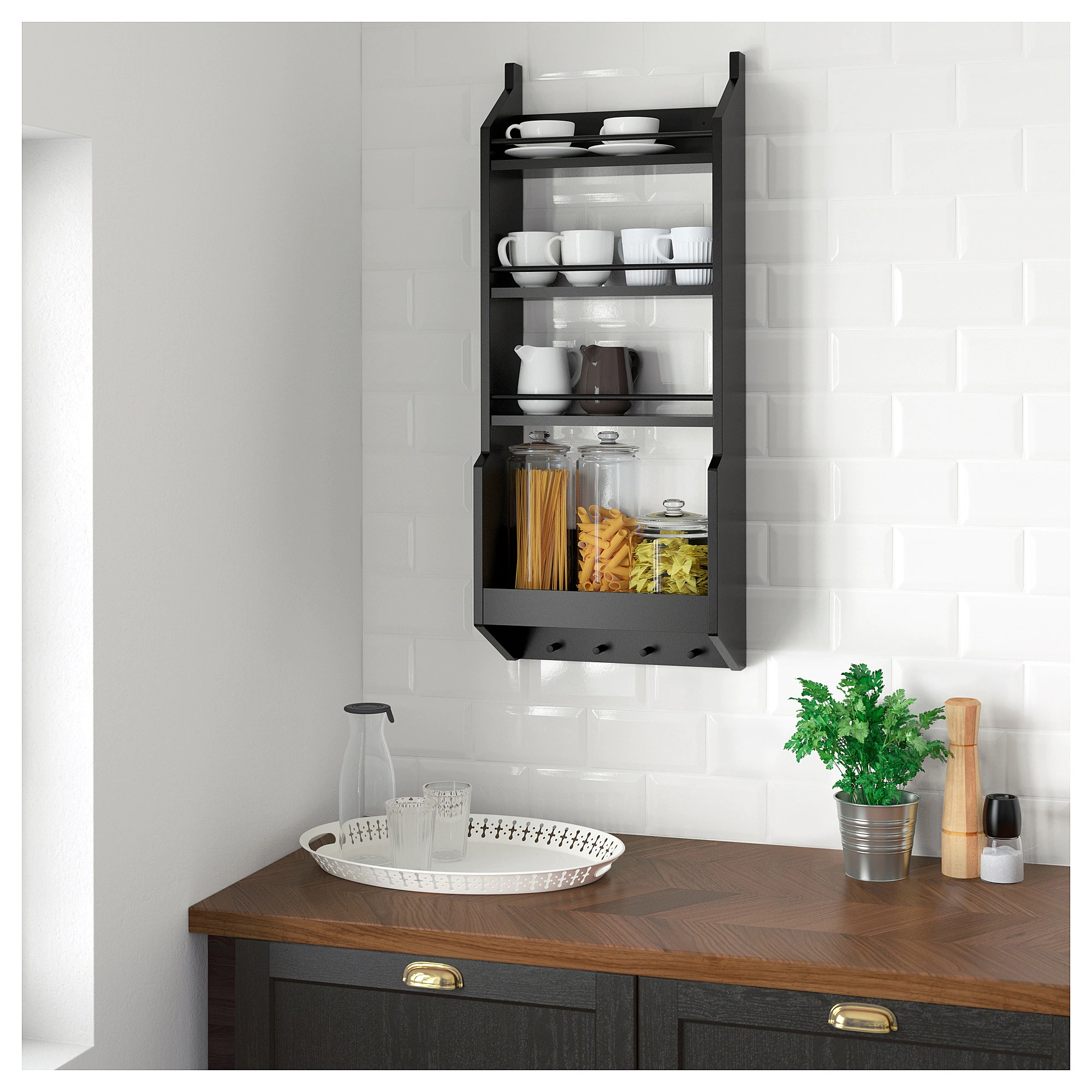 Wall Shelf Design Vadholma Wall Shelf Black