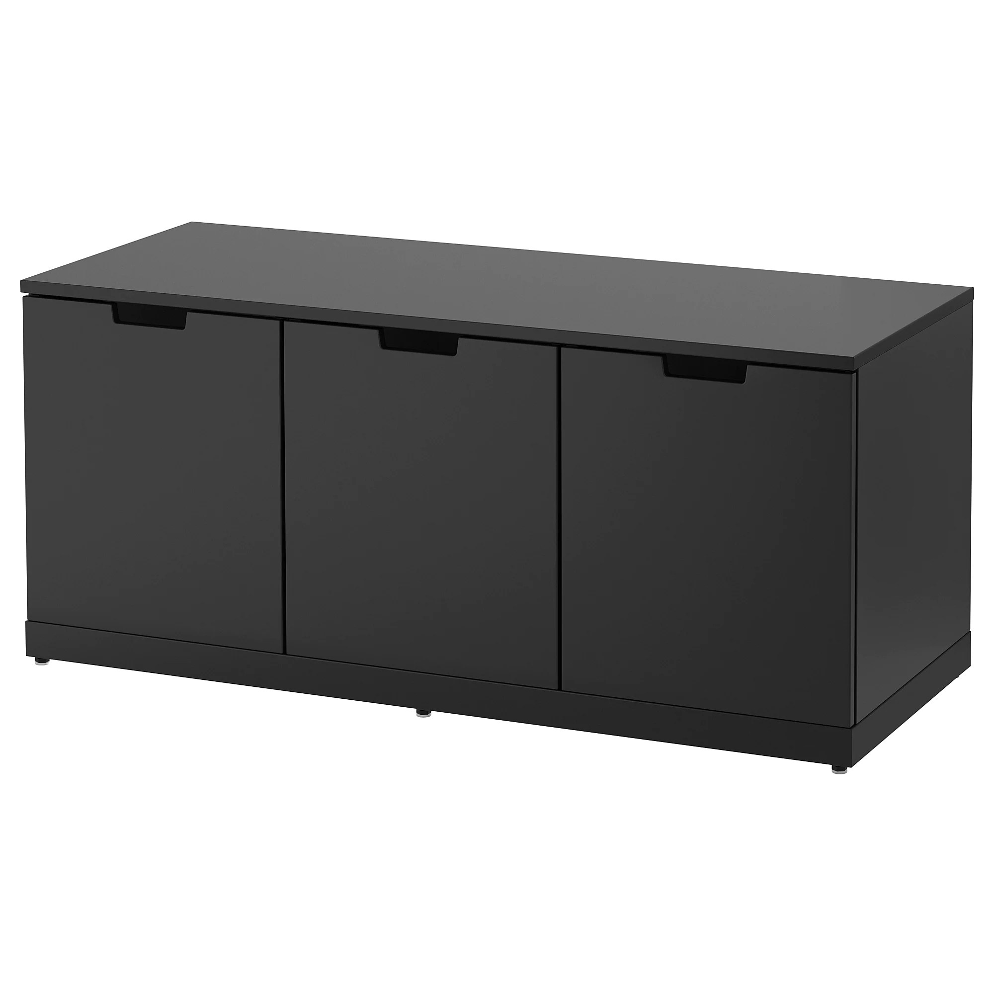 Ikea Kommode 60 X 120 Nordli 3 Drawer Chest Anthracite