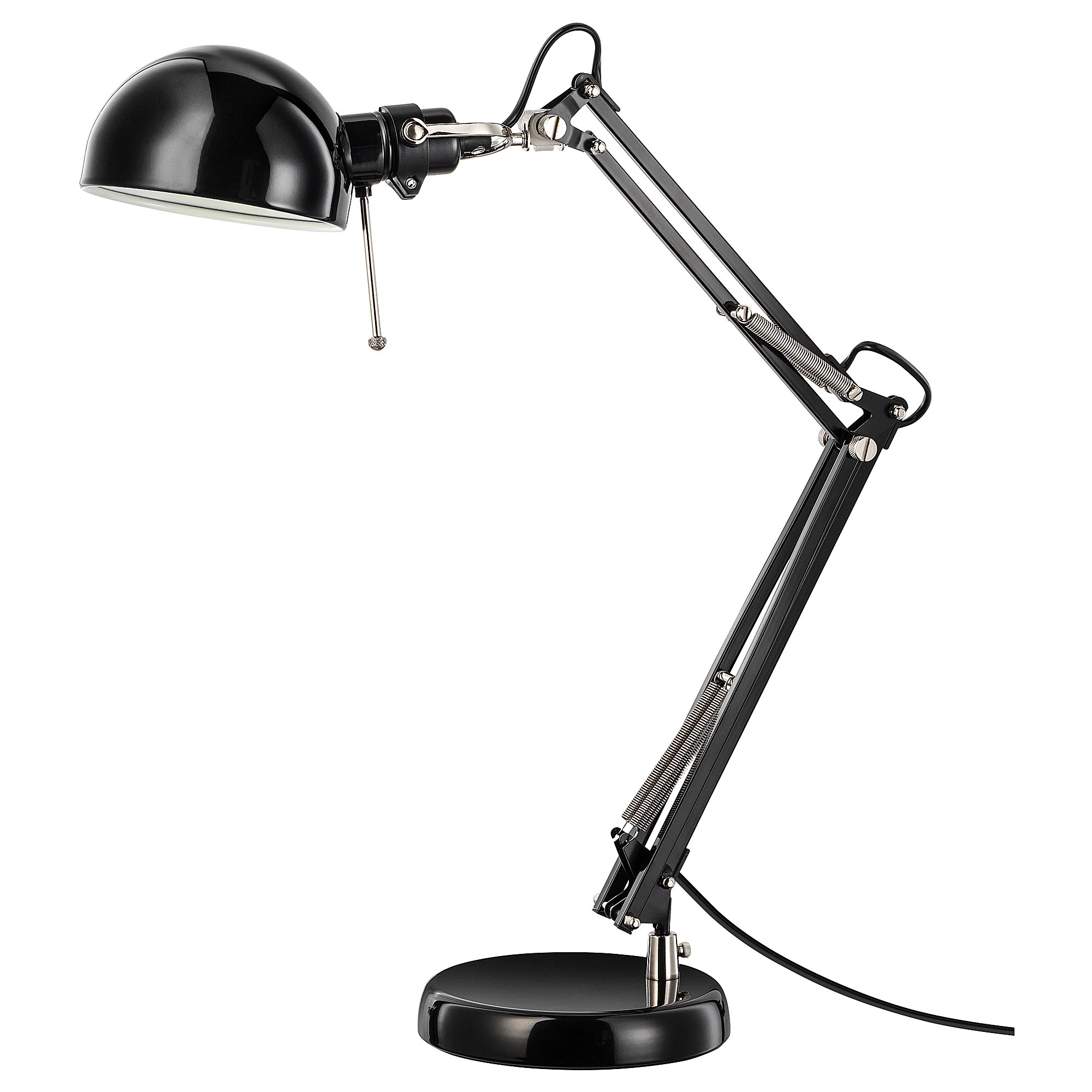 Ikea Reading Lamp ForsÅ Work Lamp Black