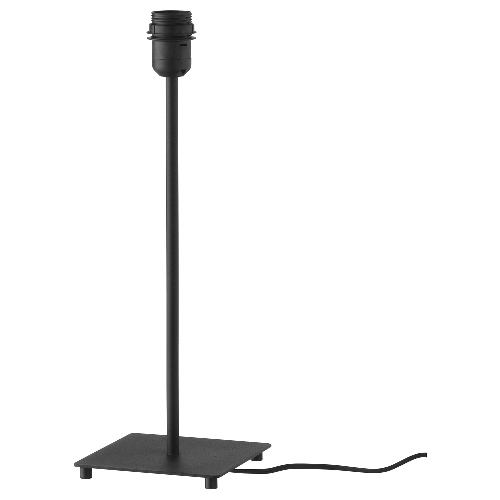 Table Lamp Base Hemma Table Lamp Base Black