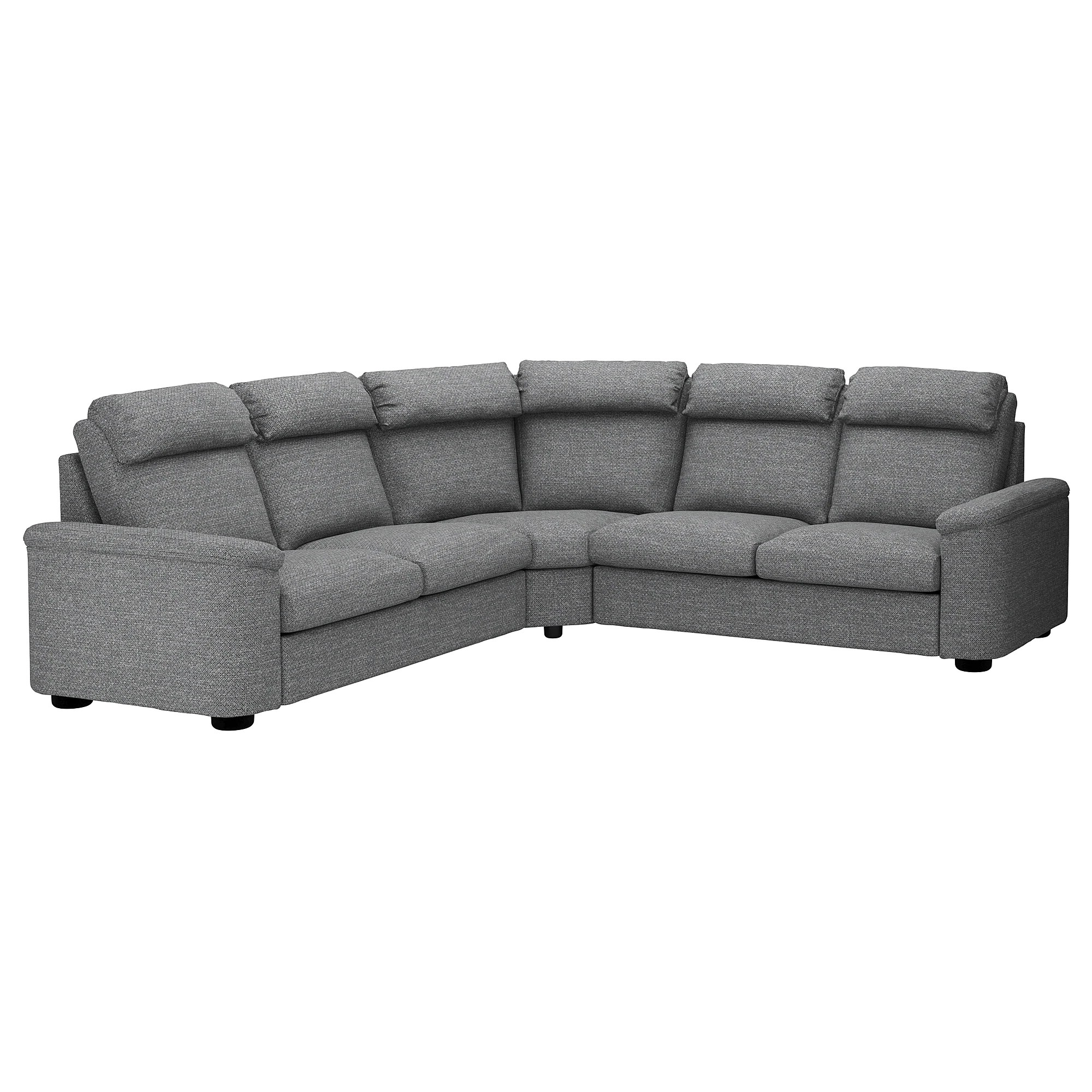 Sofa Bed For Sale Toronto Lidhult Corner Sofabed W Chaise Lejde Gray Black