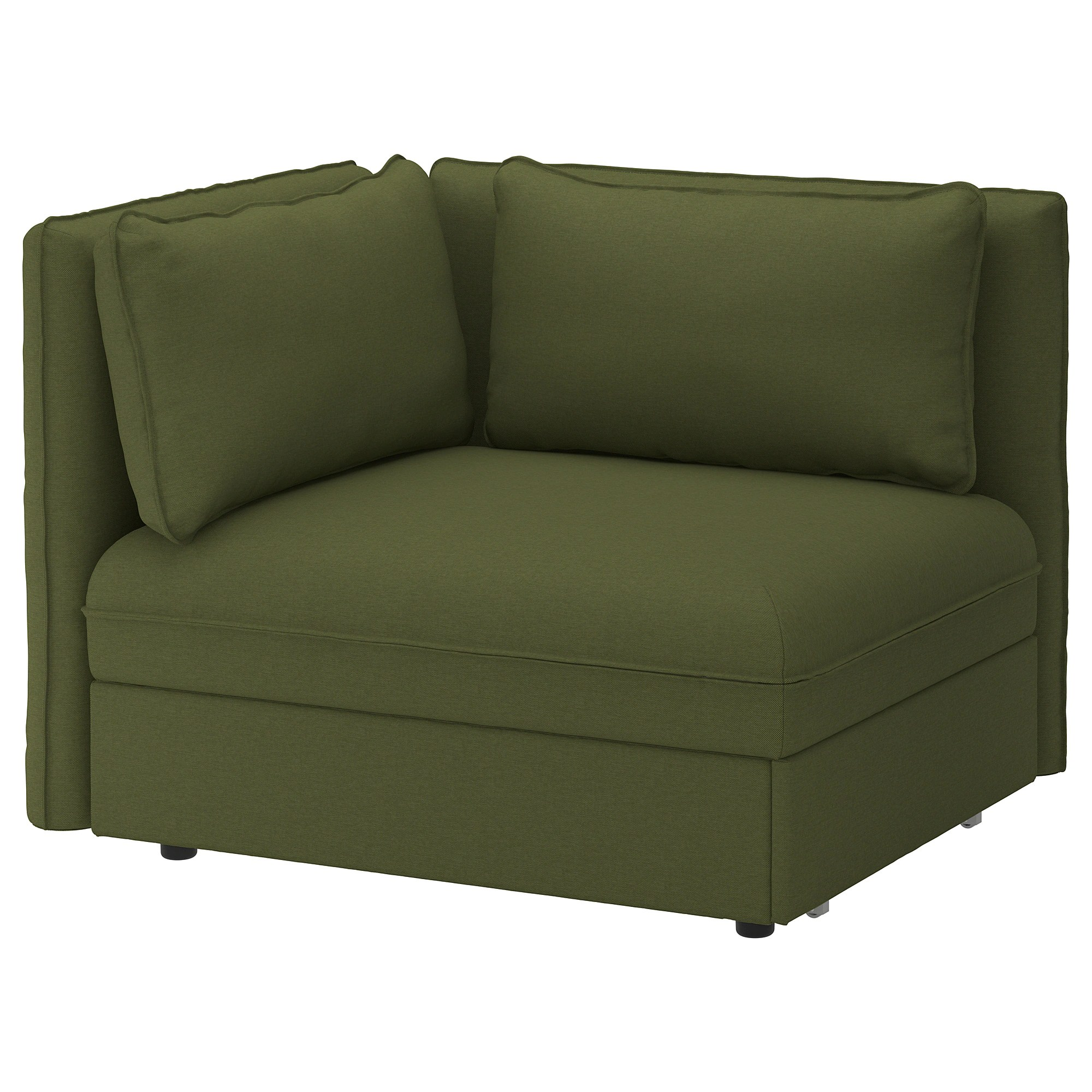 Sofa Module Sofa Bed Module With Backrests Vallentuna Orrsta Olive Green