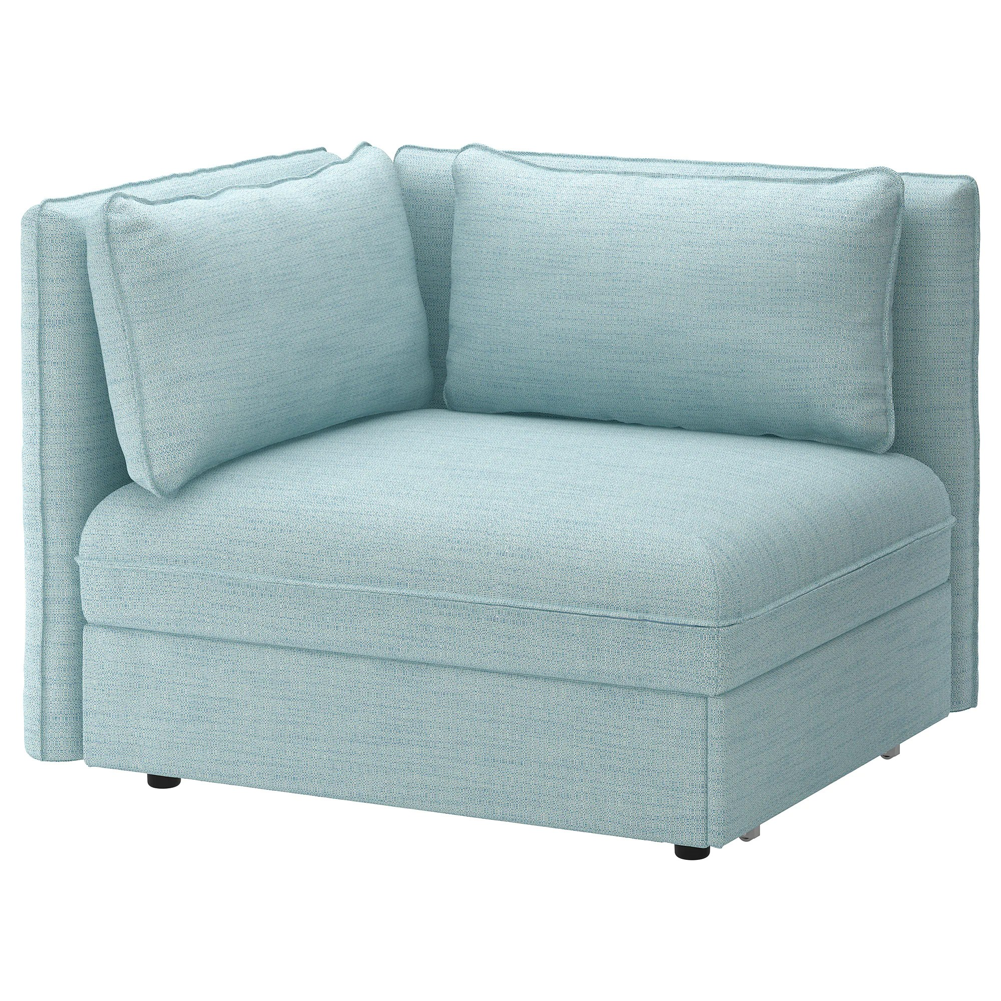 Sofa Module Sofa Bed Module With Backrests Vallentuna Hillared Light Blue