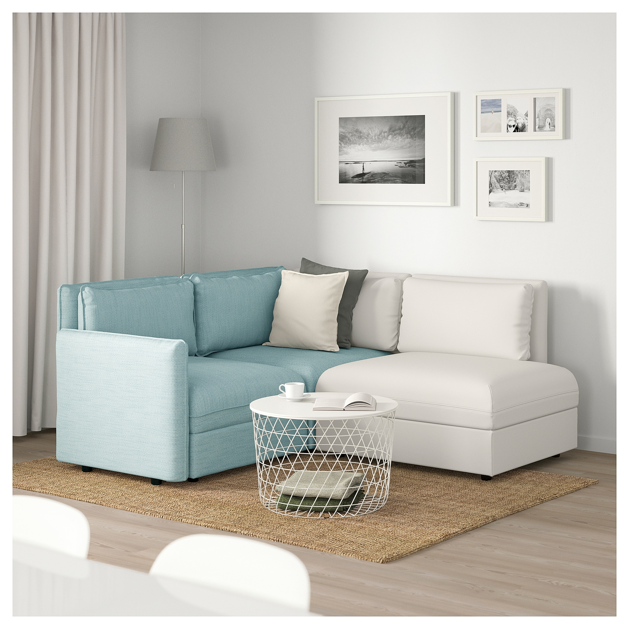 Vallentuna 3 Seat Modular Sofa With Storage Hillared - Ikea Sofa Quality