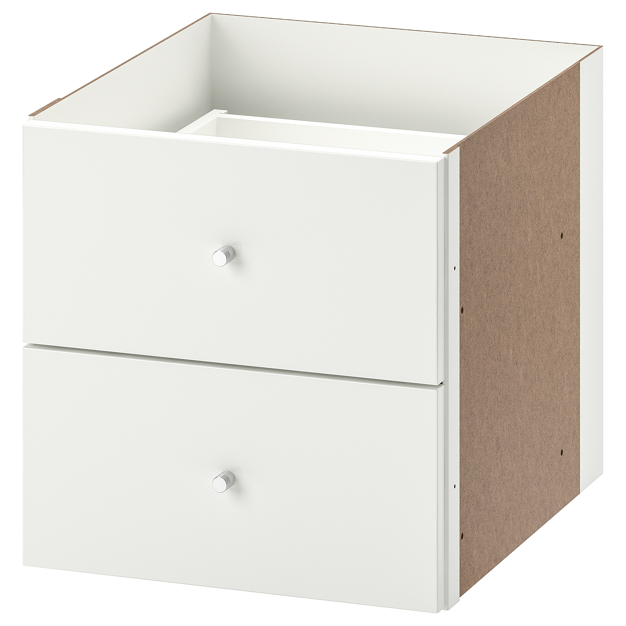 Filing Cabinet Insert Kallax Insert With 2 Drawers White