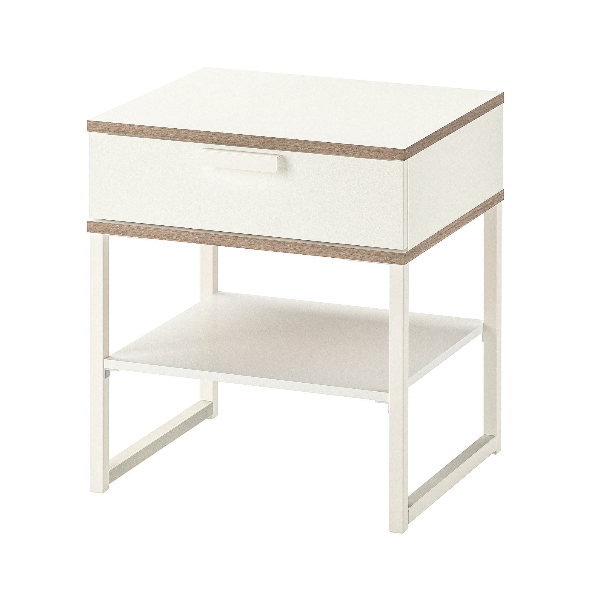 Table De Chevet Murale Ikea Table Chevet Trysil Blanc Gris Clair
