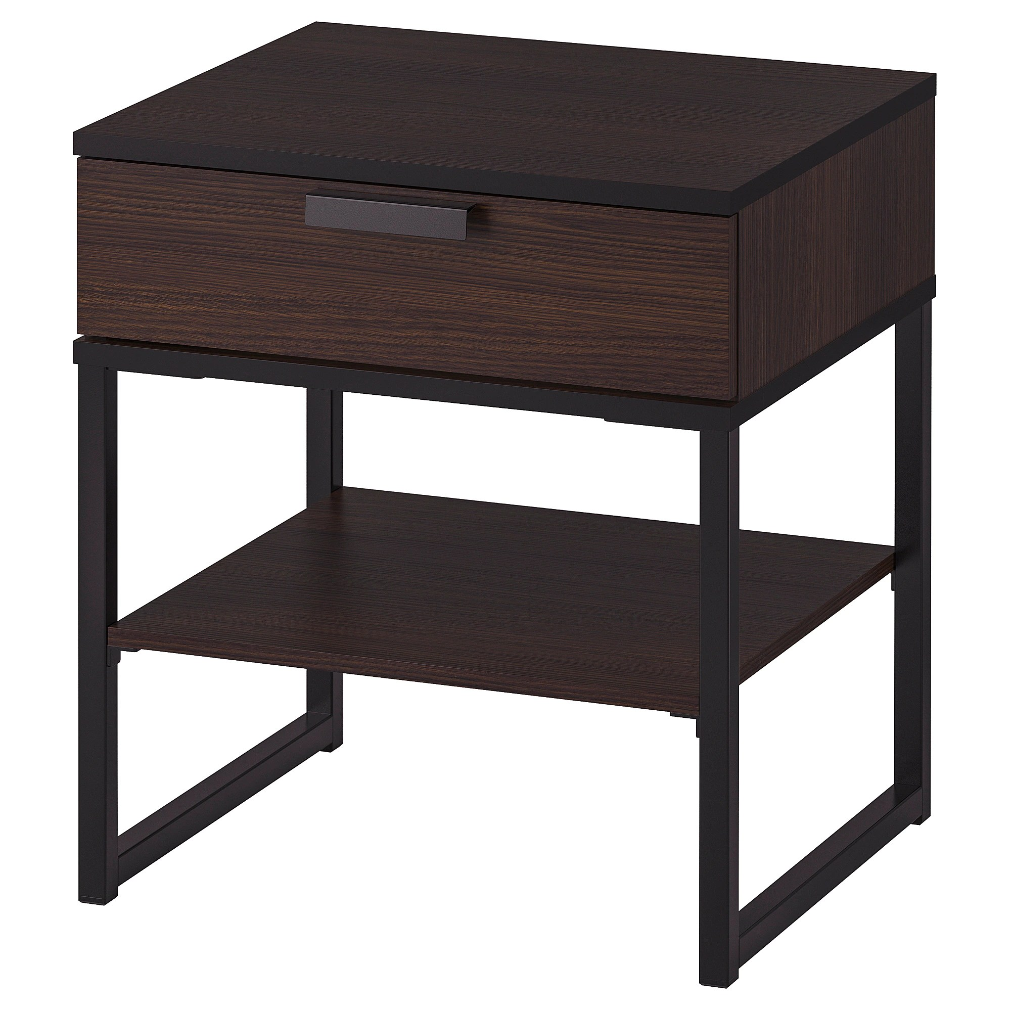 Laid Back Sessel Trysil Nightstand Dark Brown Black