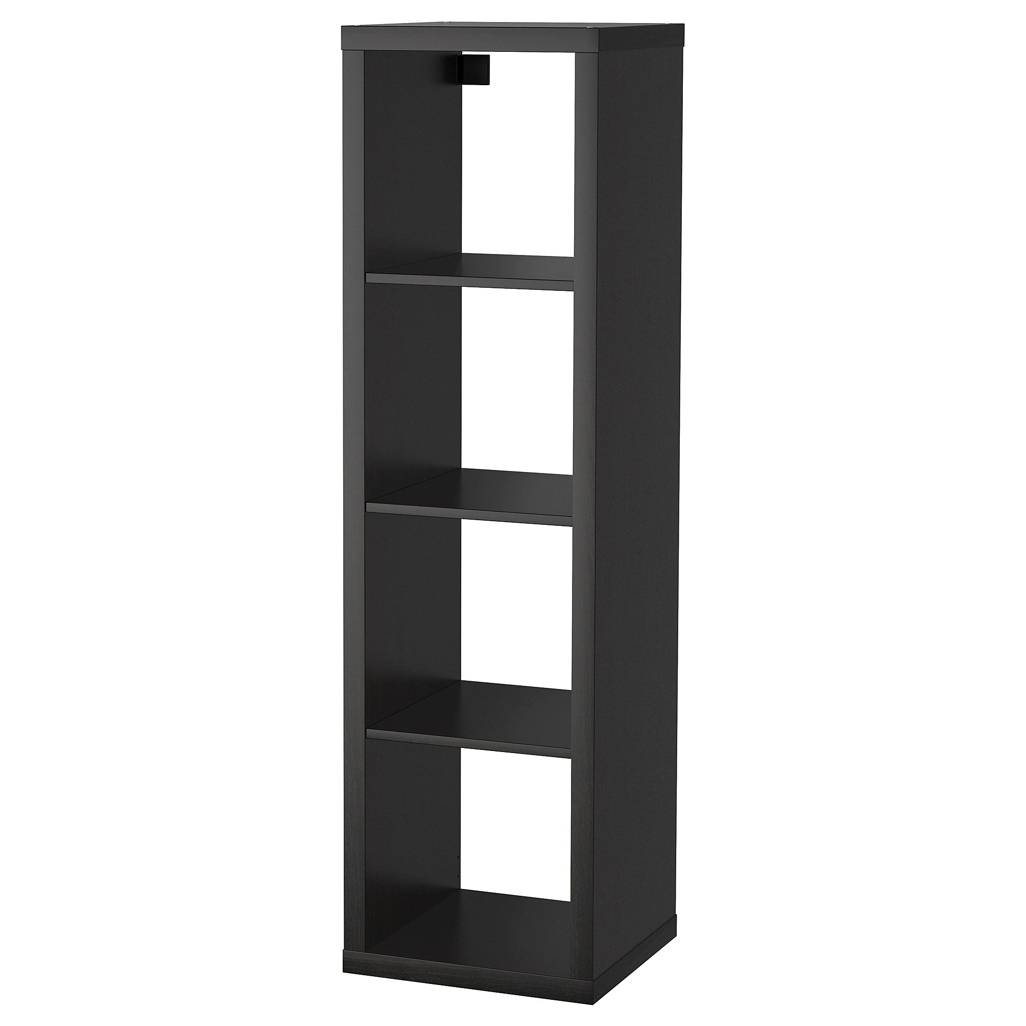 Ikea Expedit Ovet Shelving Unit Kallax Black Brown