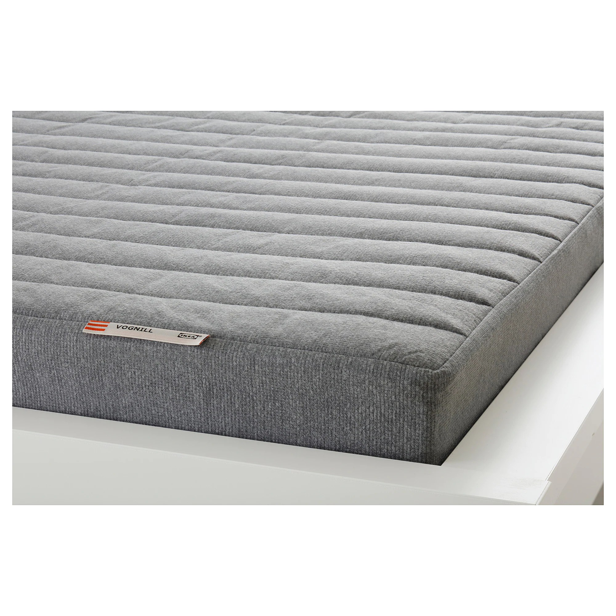 Latex Foam Mattress Coir Foam Mattress Vognill Firm Light Grey