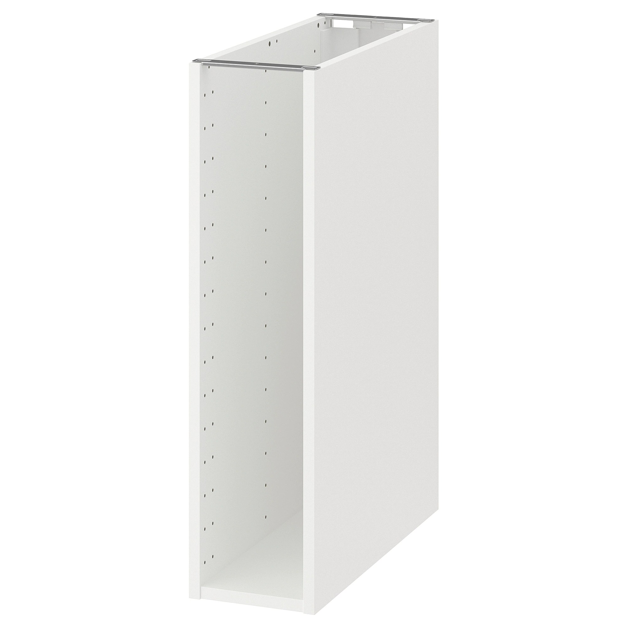 Caisson Metal Ikea Base Cabinet Frame Metod White